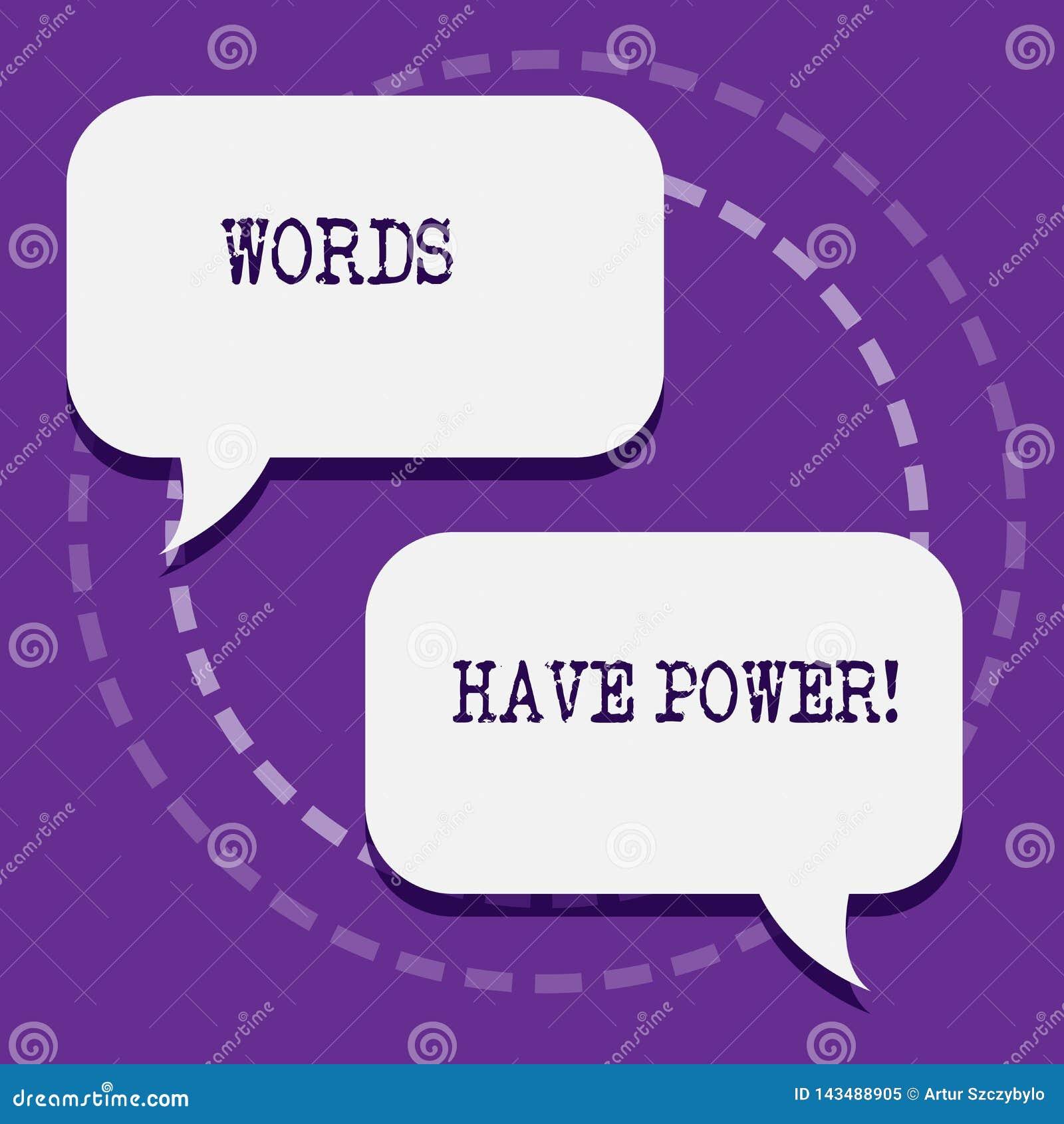 Ord för ordhandstiltext har makt Affärsidé för, som de har kapacitet att hjälpa att läka men eller skada någon mellanrum två