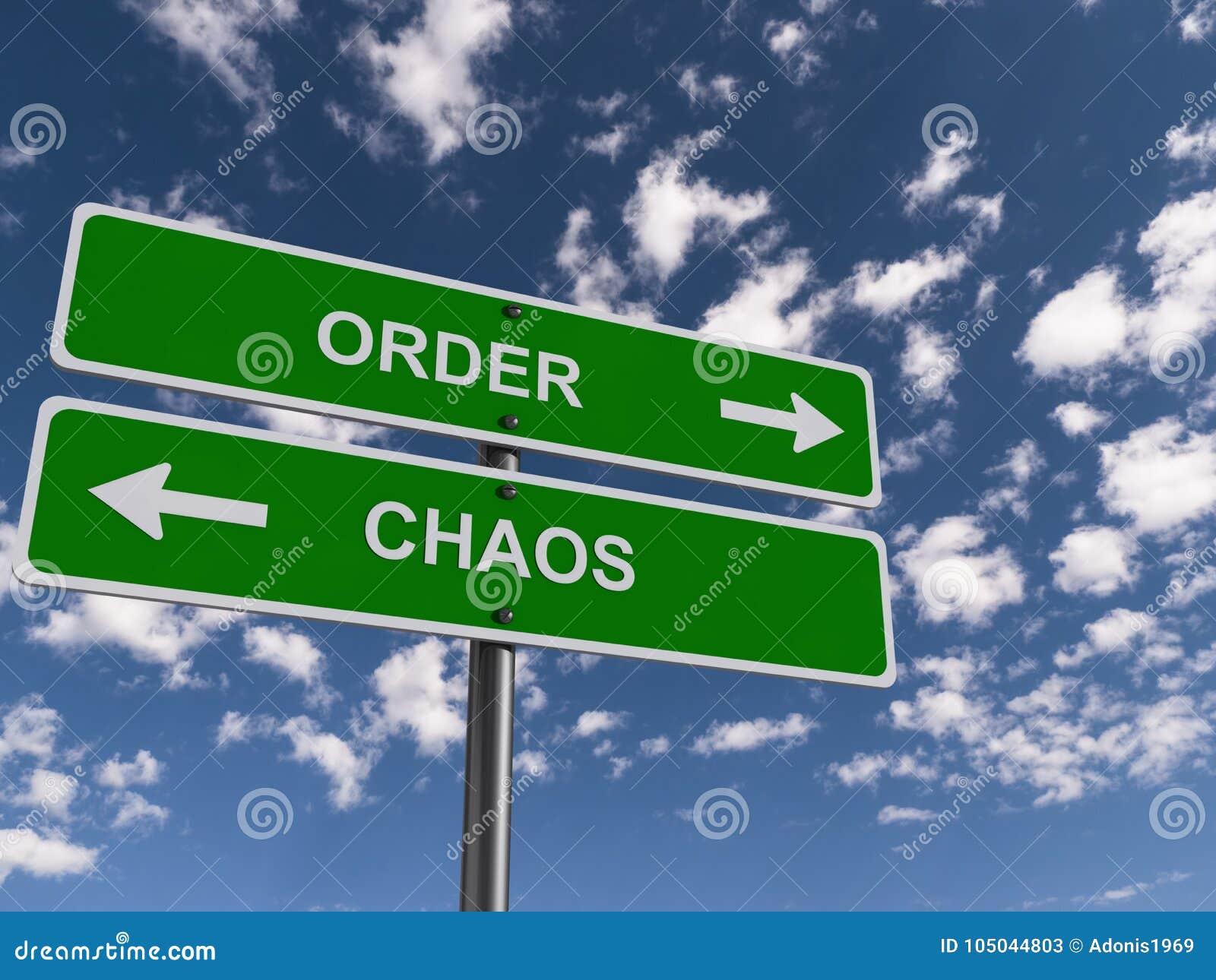 Orde en chaos