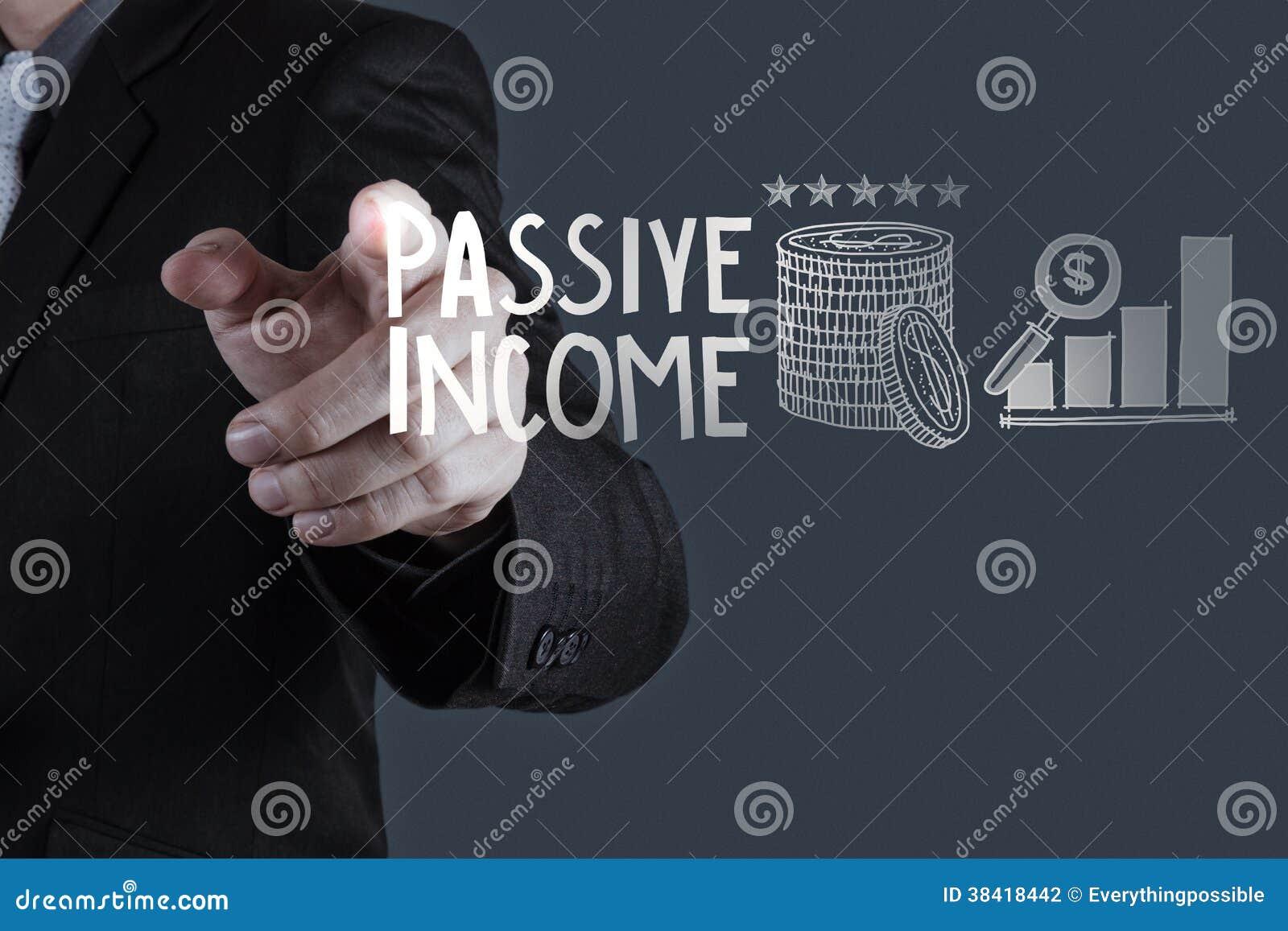 Ordenador de la pantalla táctil de la renta pasiva