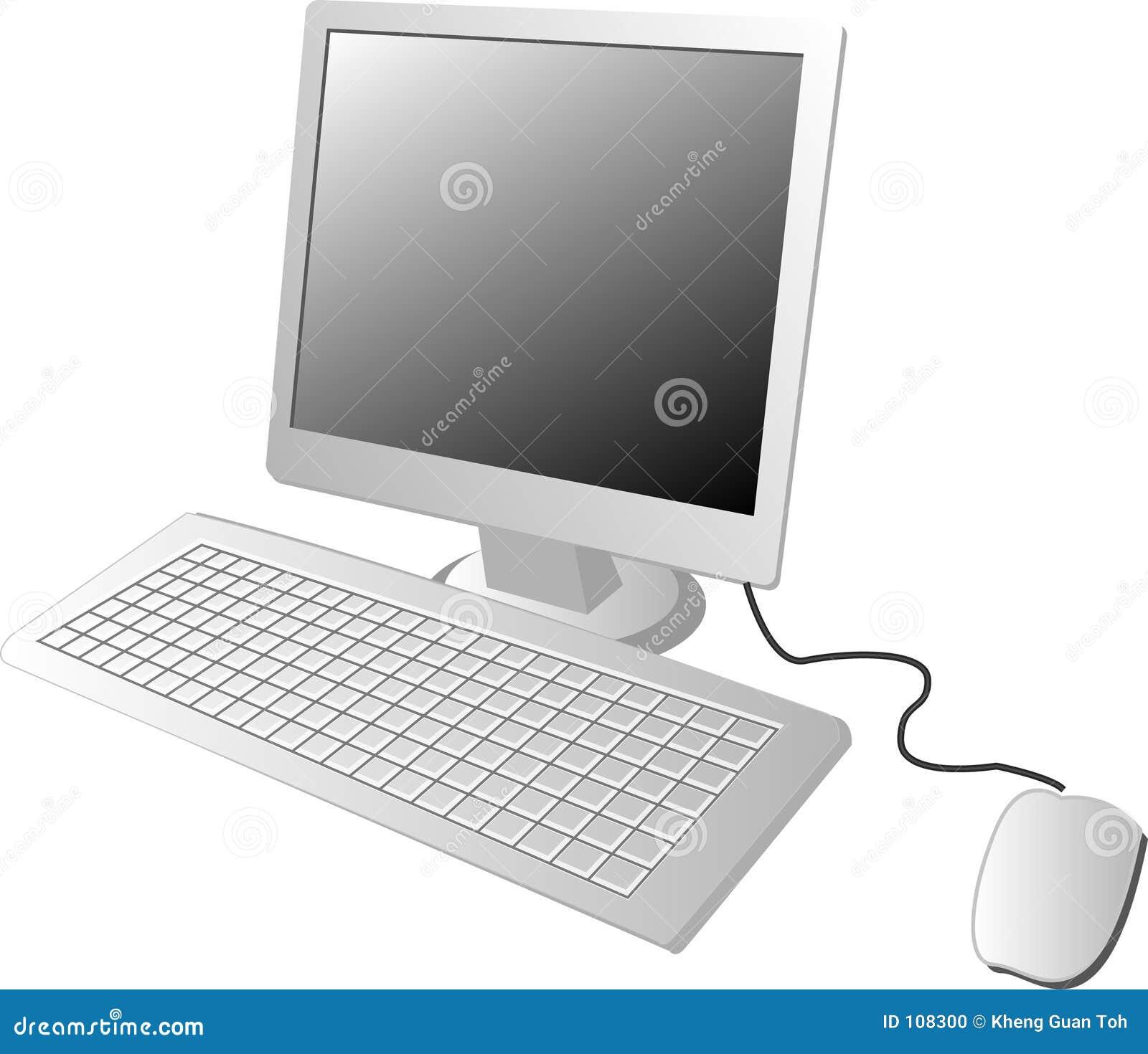 Ordenador del LCD