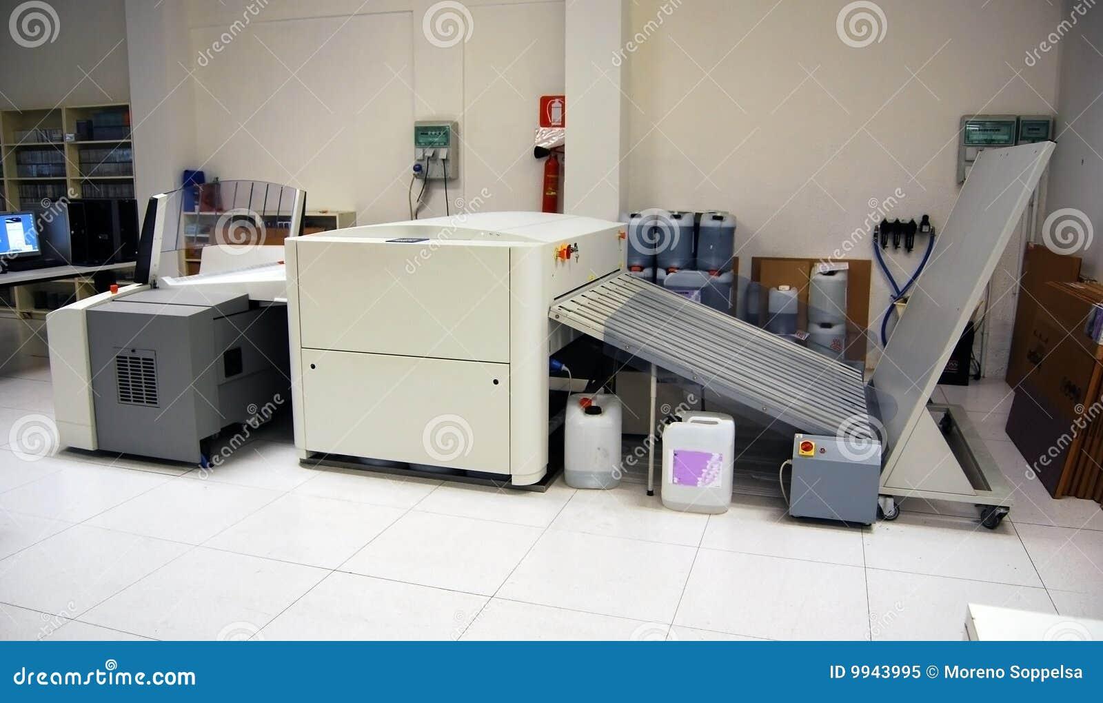 Ordenador a platear (CTP) - proceso de impresión