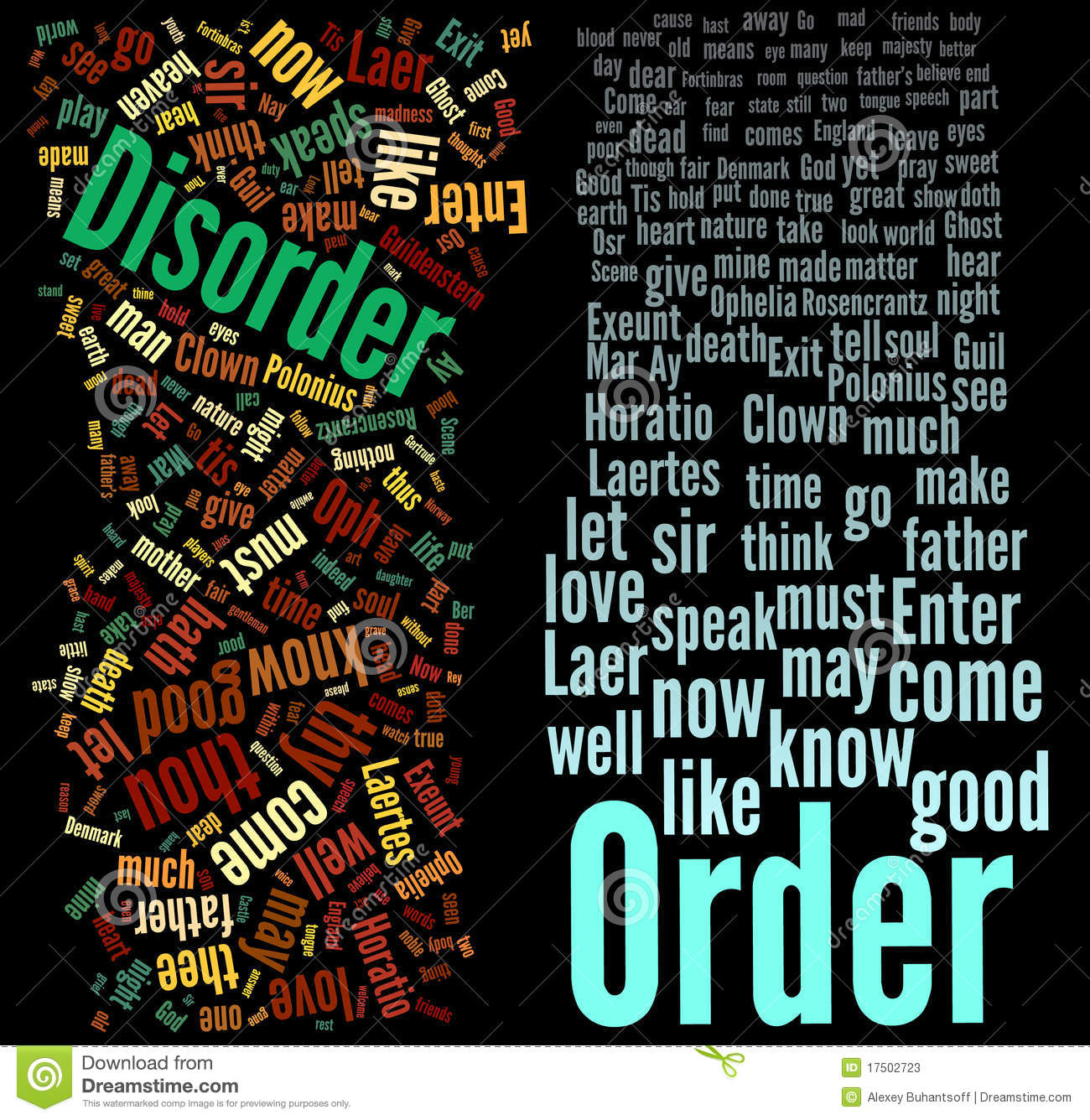 Order And Disorder Stock Photos - Image: 17502723