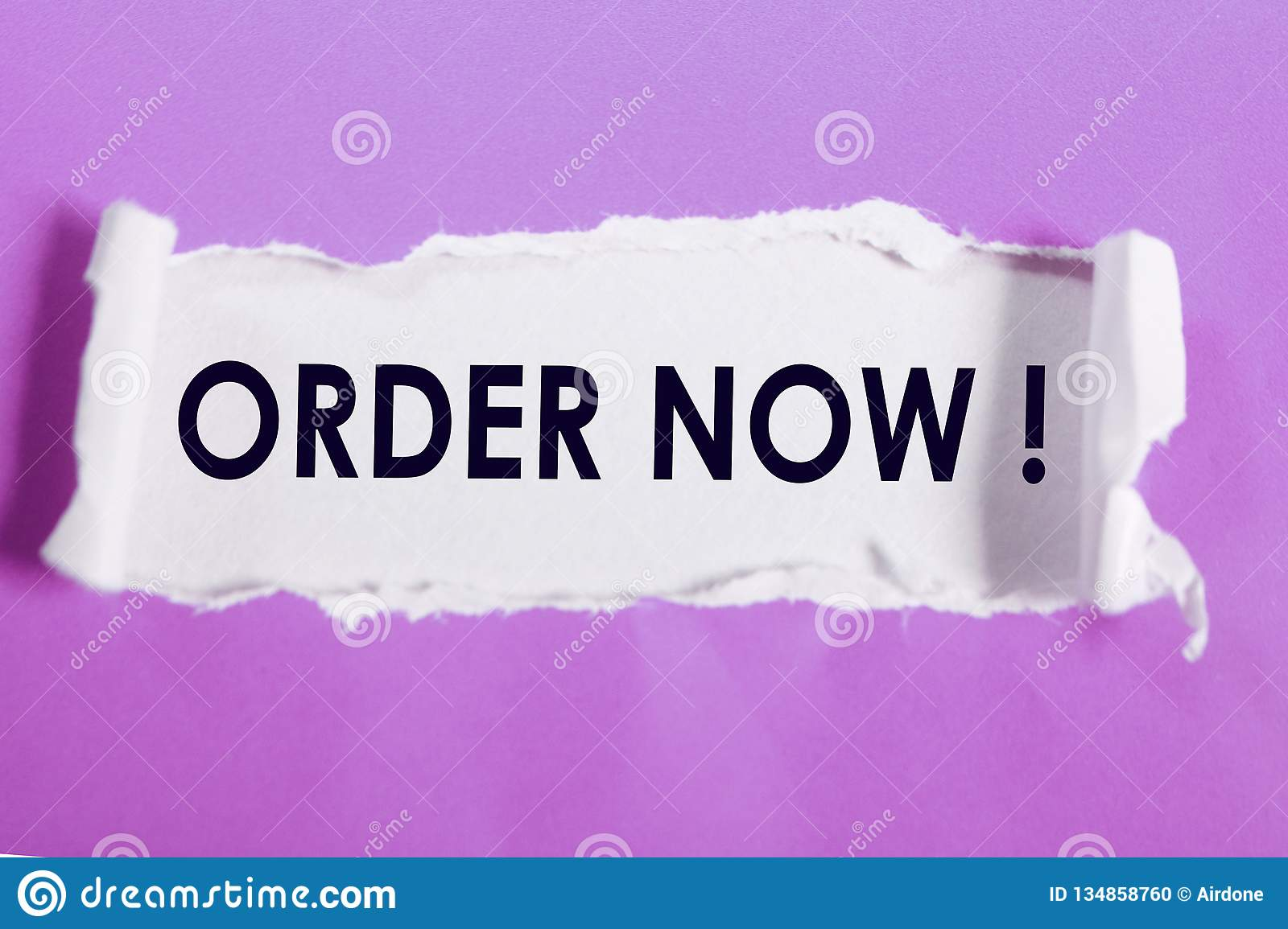 Order Now, Business Marketing Words Quotes Concept Stock
