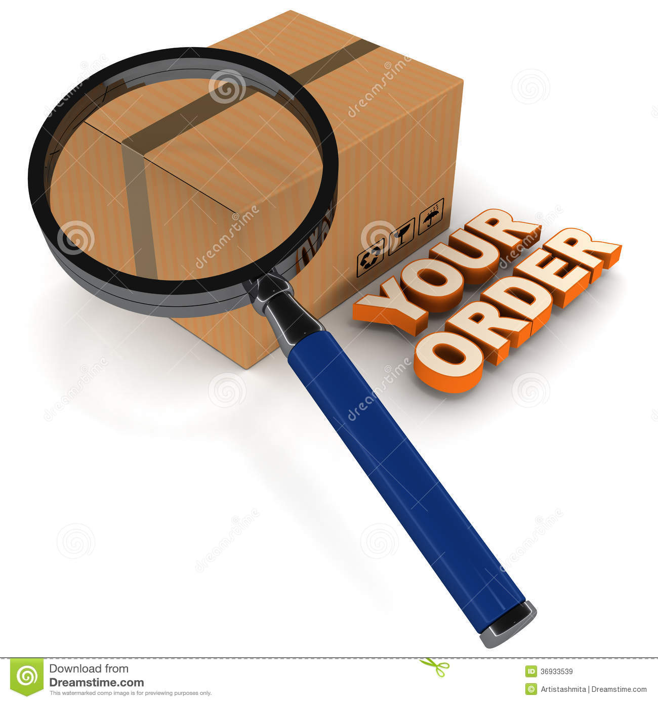 Order Status Processing Royalty Free Stock Images Image
