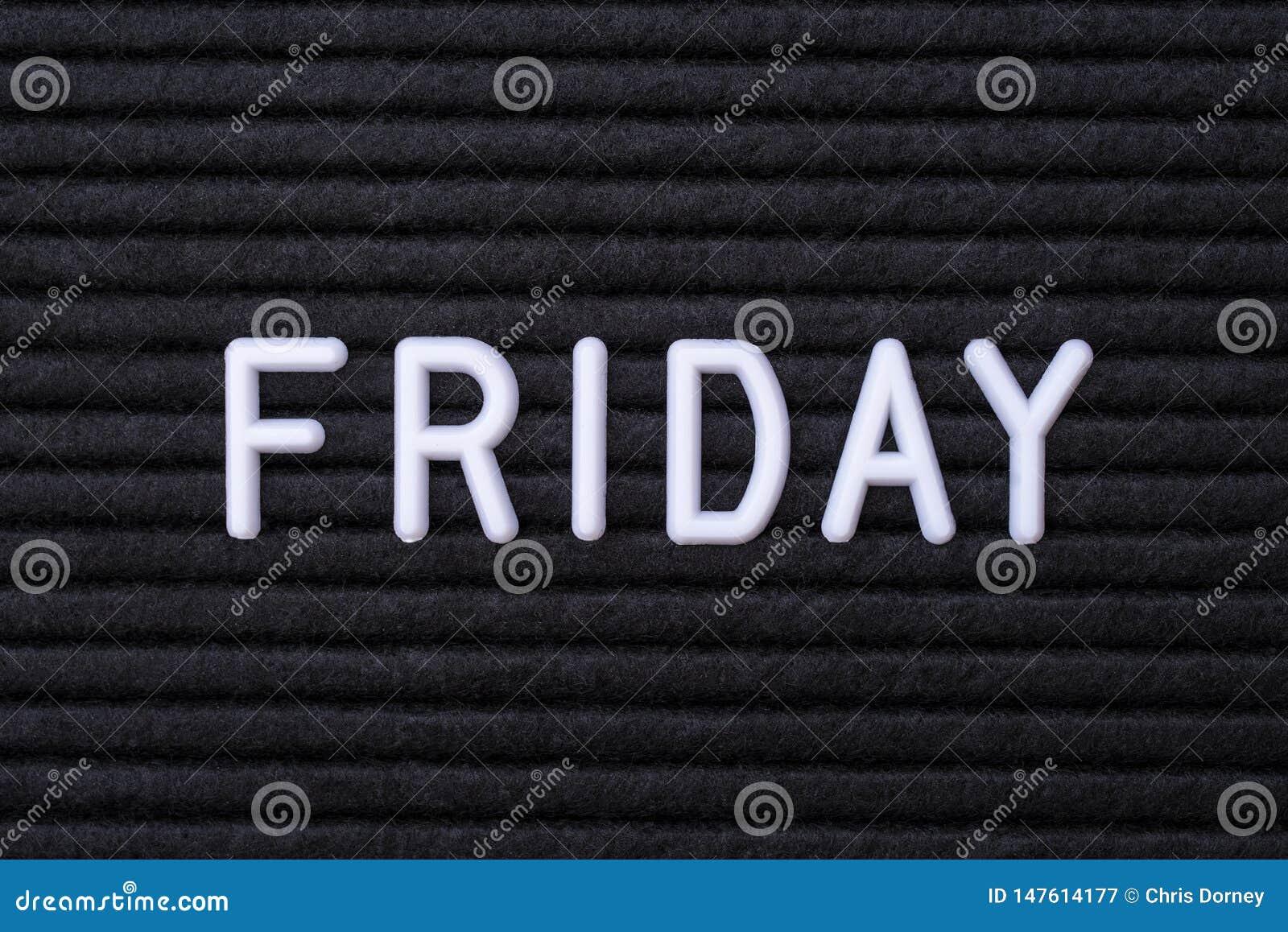 Ordet fredag