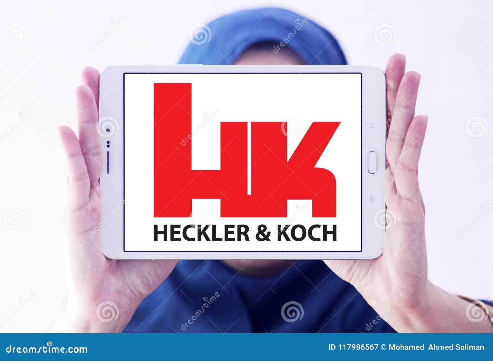 Ordeverstoorder & Koch-defensie van het productiebedrijf embleem