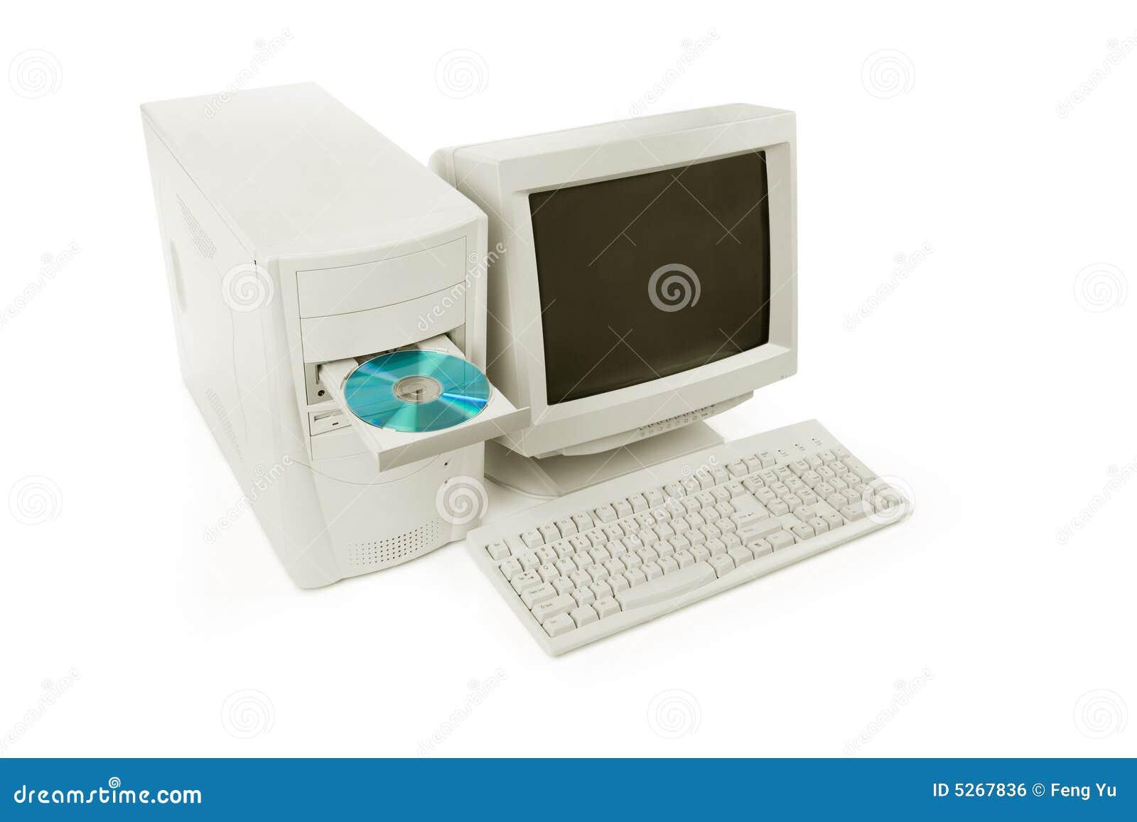 Ordinateur de bureau photo stock image du digital for Bureau digital