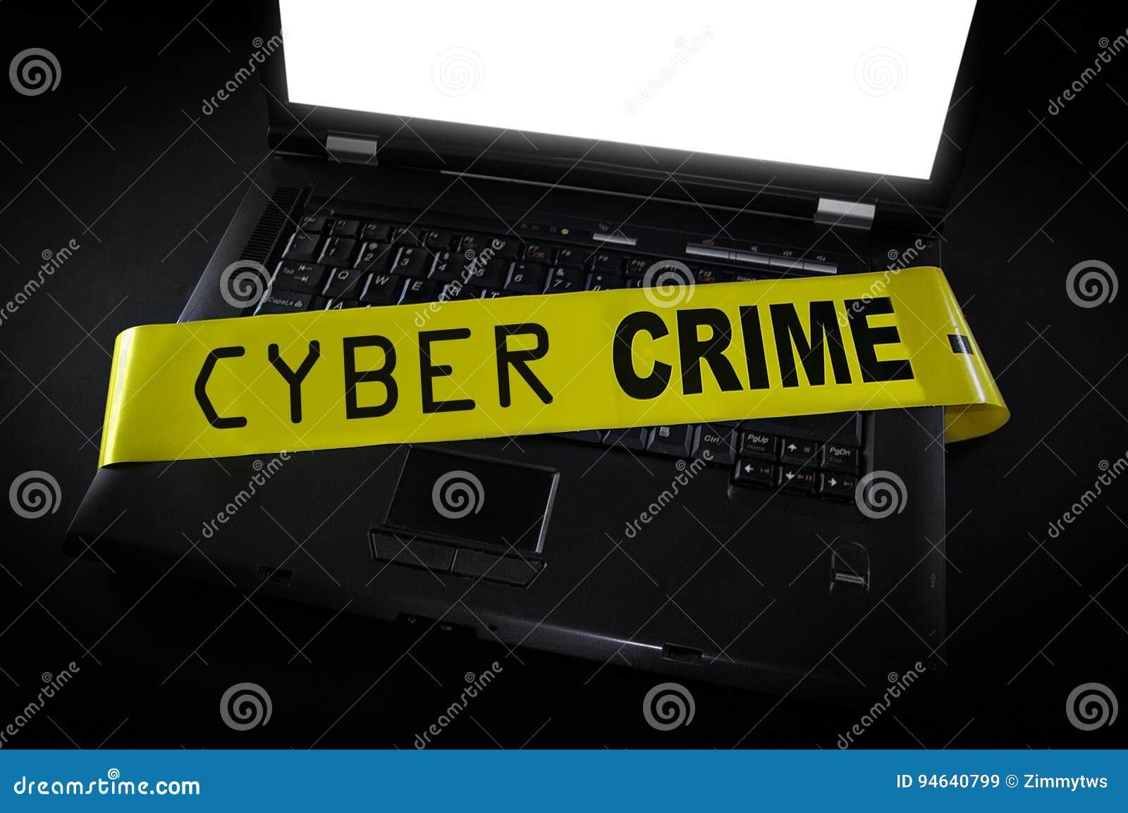 Ordinateur de crime de Cyber