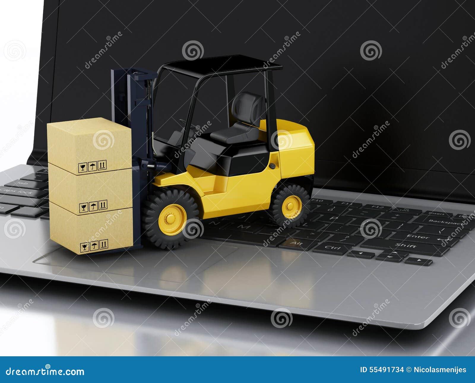 Ordinateur portable avec le chariot l vateur fournir des - Credit carrefour papier a fournir ...