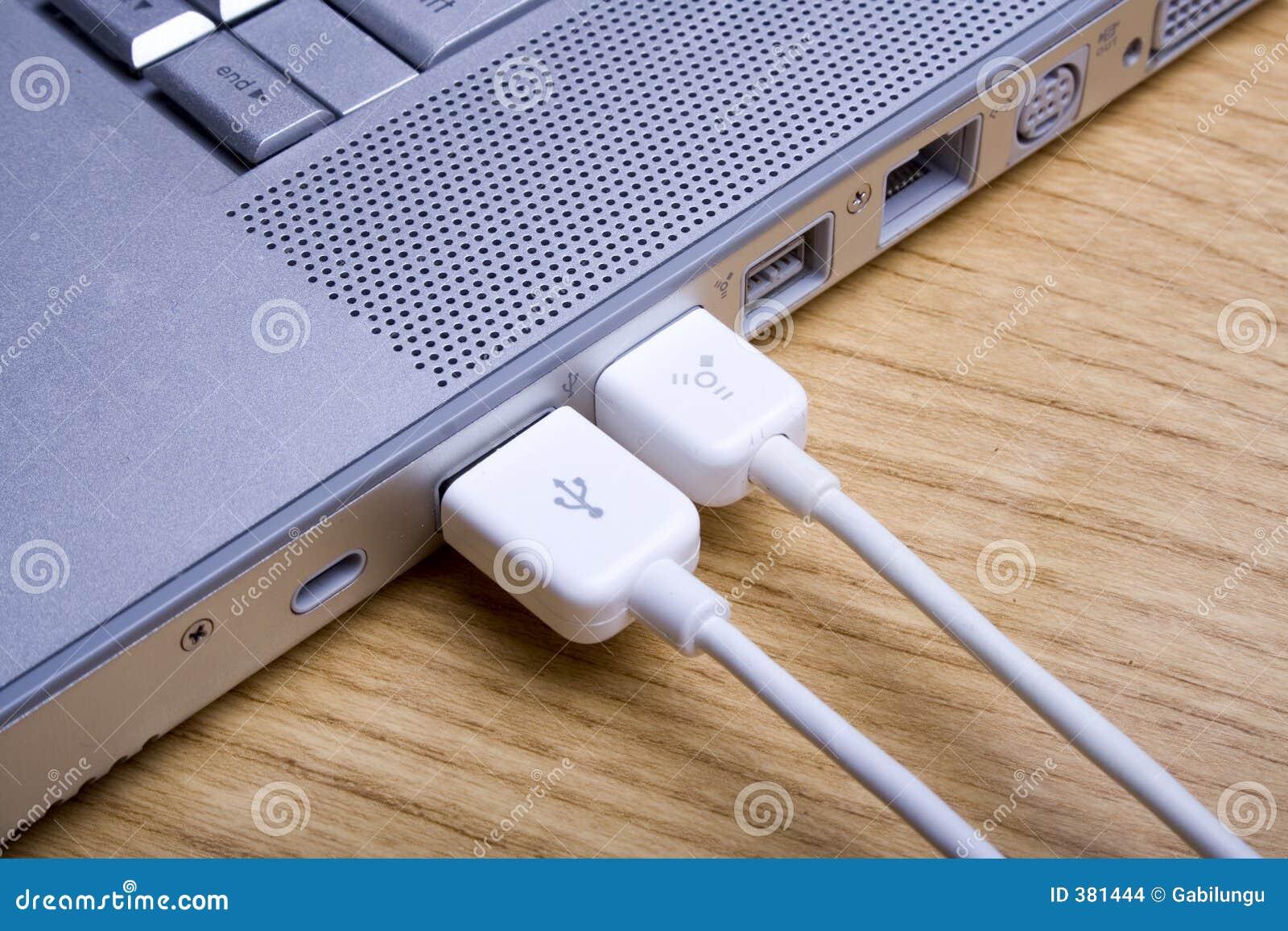 Ordinateur portatif et câbles 4