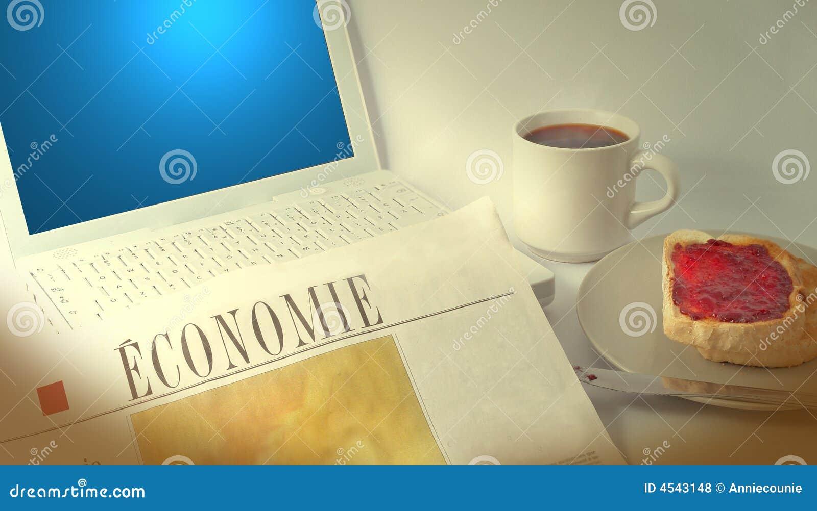 Ordinateur portatif et journal