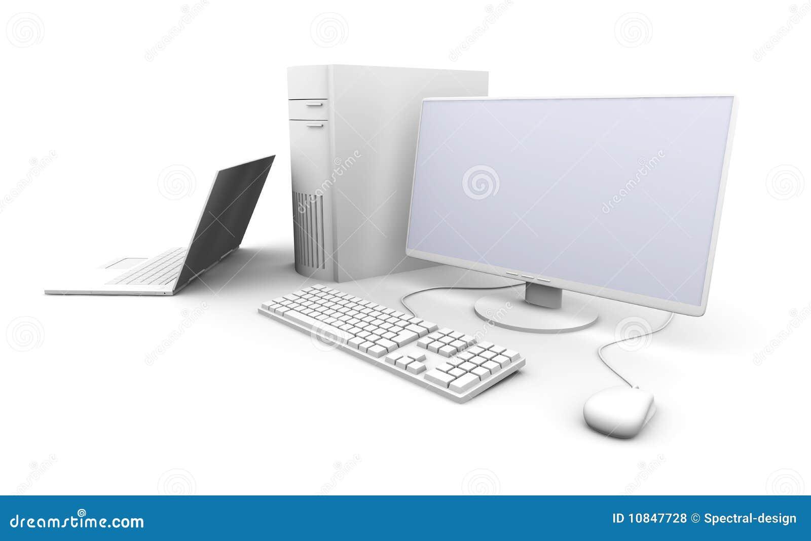 Ordinateur portatif et PC de bureau