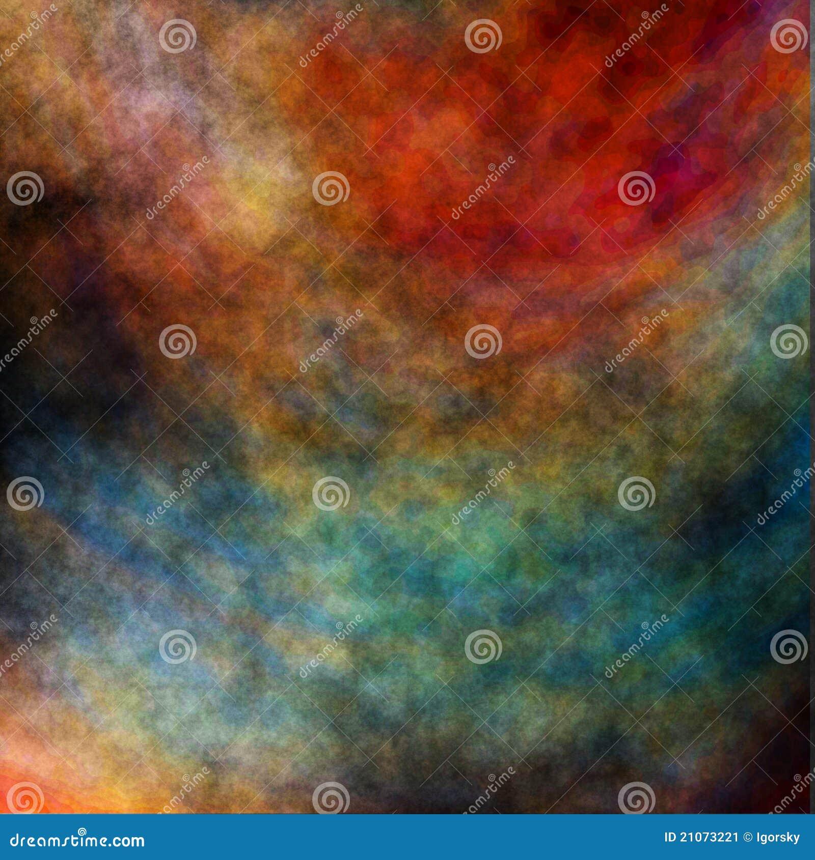 Ordinateur rendu, abstrait, arc-en-ciel