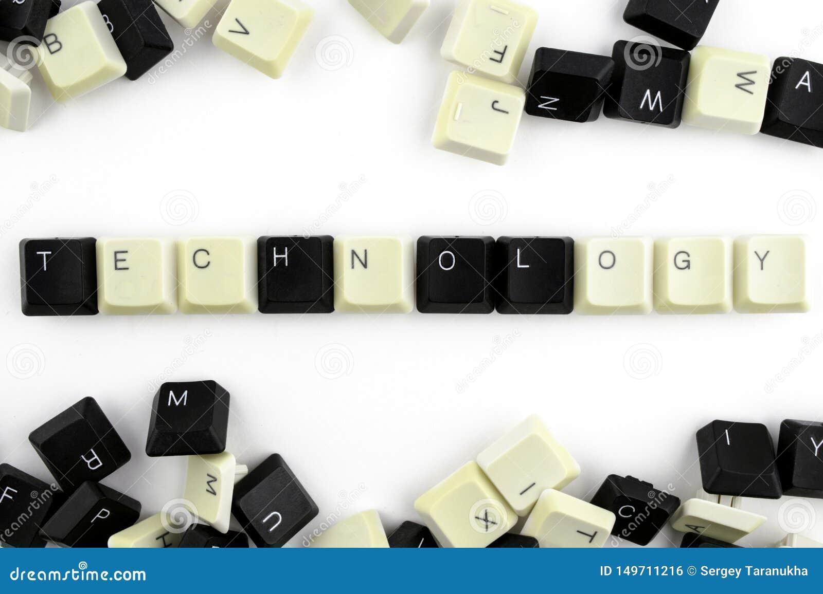 Ordinateurs et informatique dans les industries et les domaines de l activit? humaine - concept technologie sur un fond blanc de