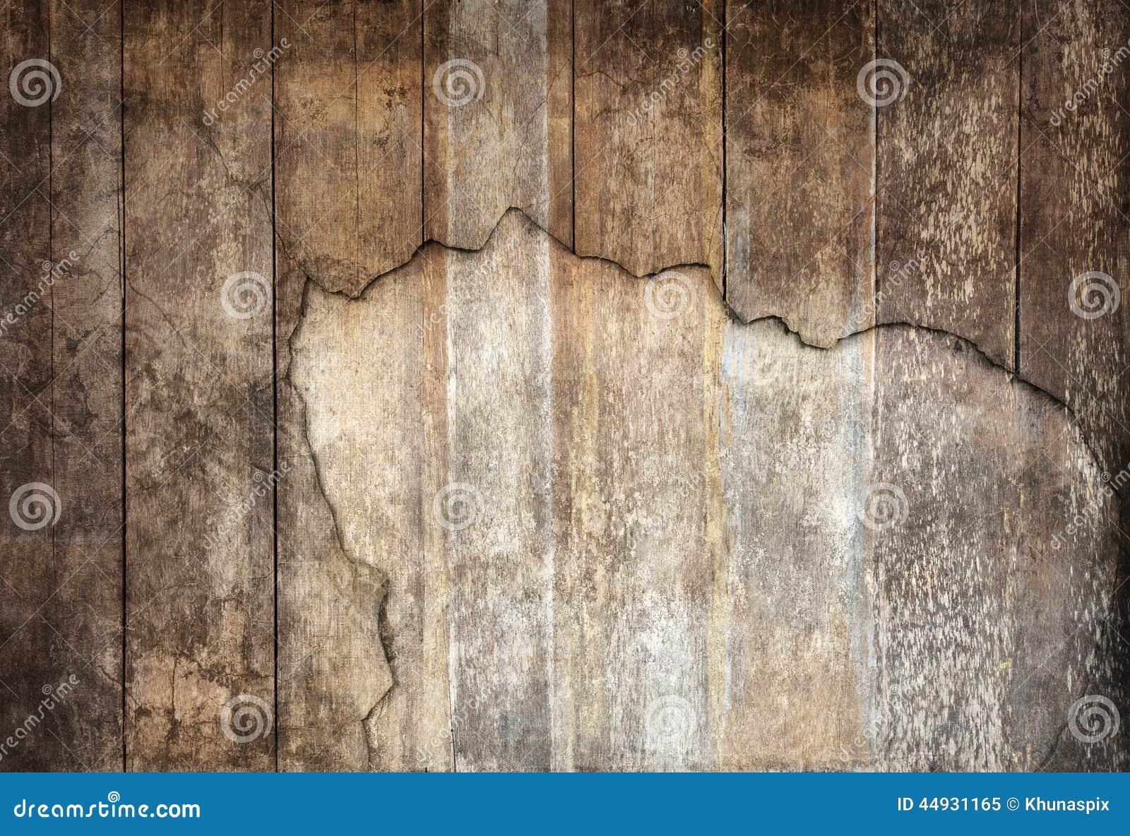 Ordning av gammalt texturerat panelbruk för panel trä som träkorn