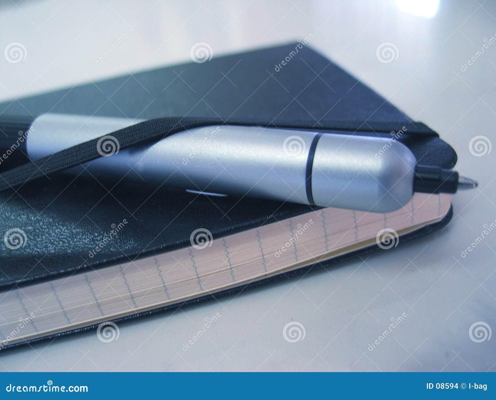Ordre du jour et crayon lecteur