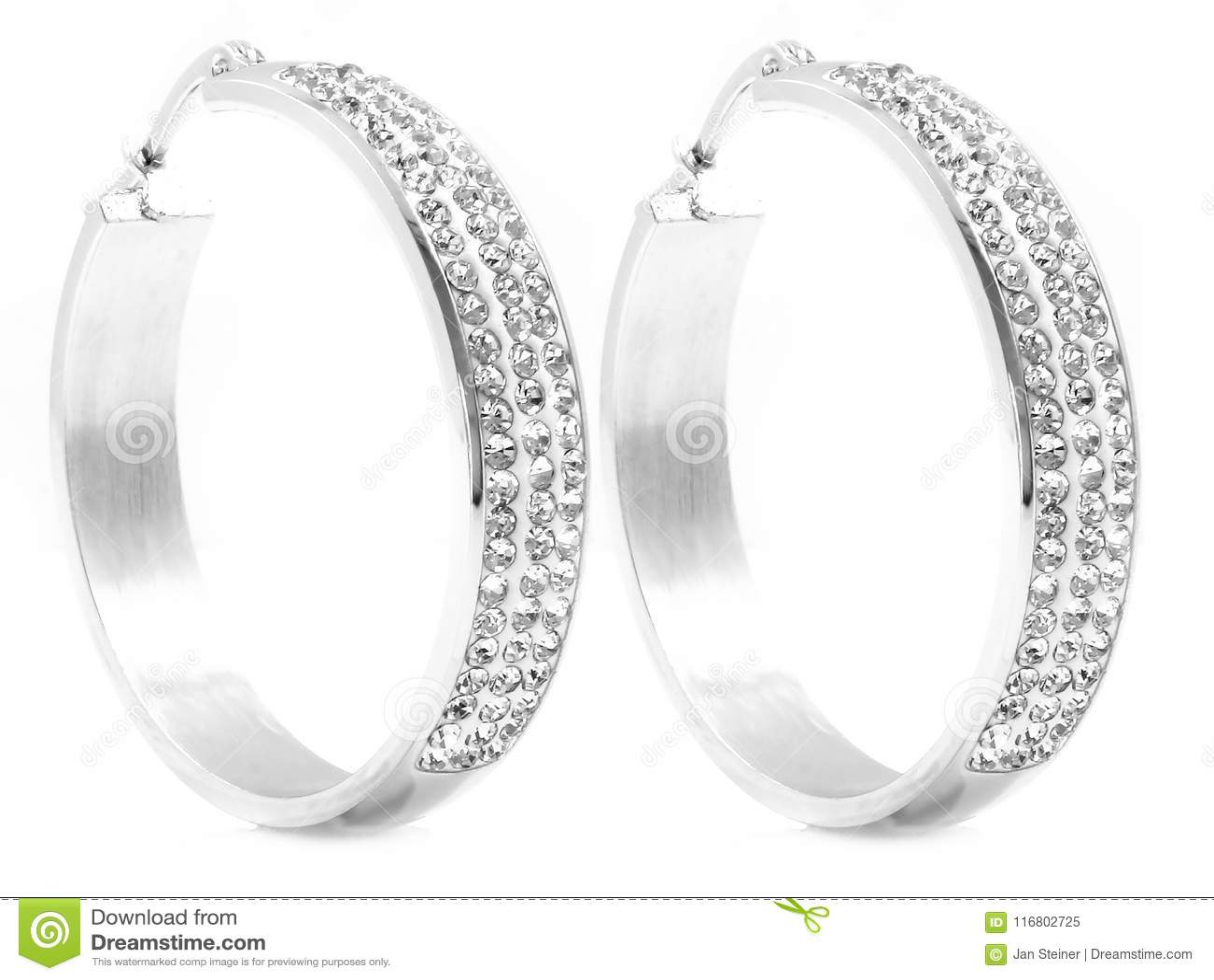 Orecchini - gioielli per le donne - acciaio inossidabile