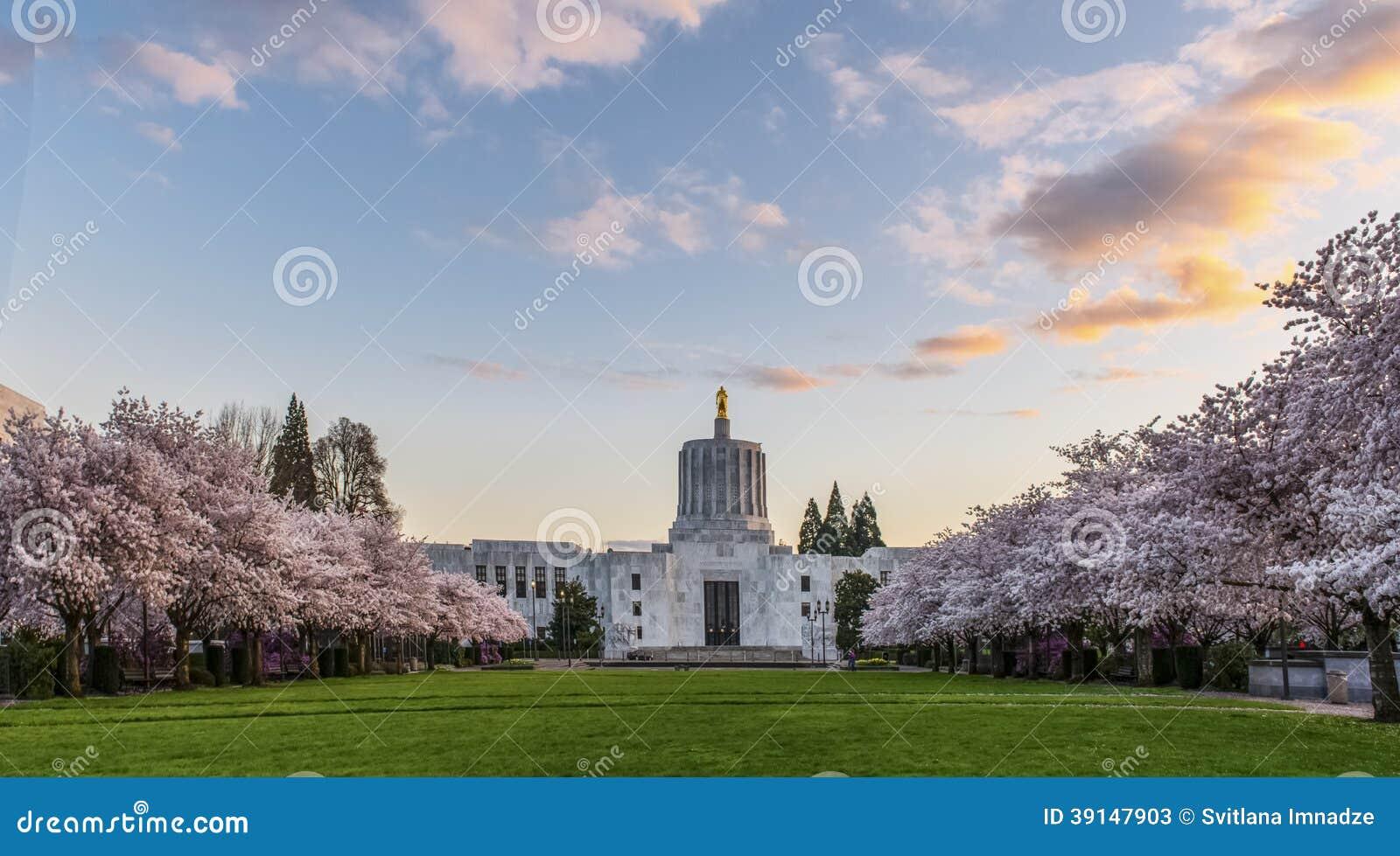 Oregon state capitol salem stock photo image 39147903 for Salem place