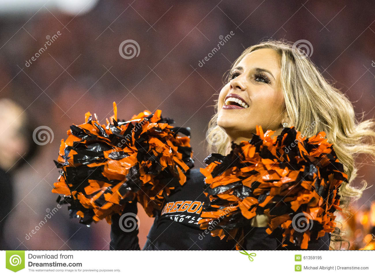 Oregon state university cheerleaders