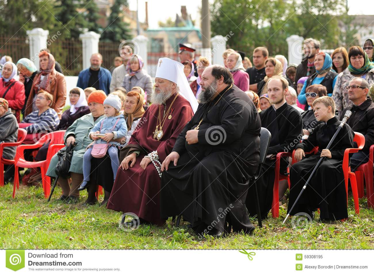 orel russia september 13 2015 orthodox church family day m editorial image image 59308195. Black Bedroom Furniture Sets. Home Design Ideas