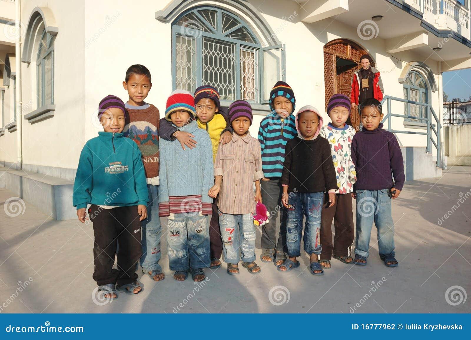 Orfanato em Kathmandu, Nepal