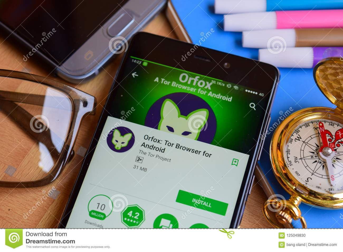 Orfox: Tor Browser For Android Dev App On Smartphone Screen