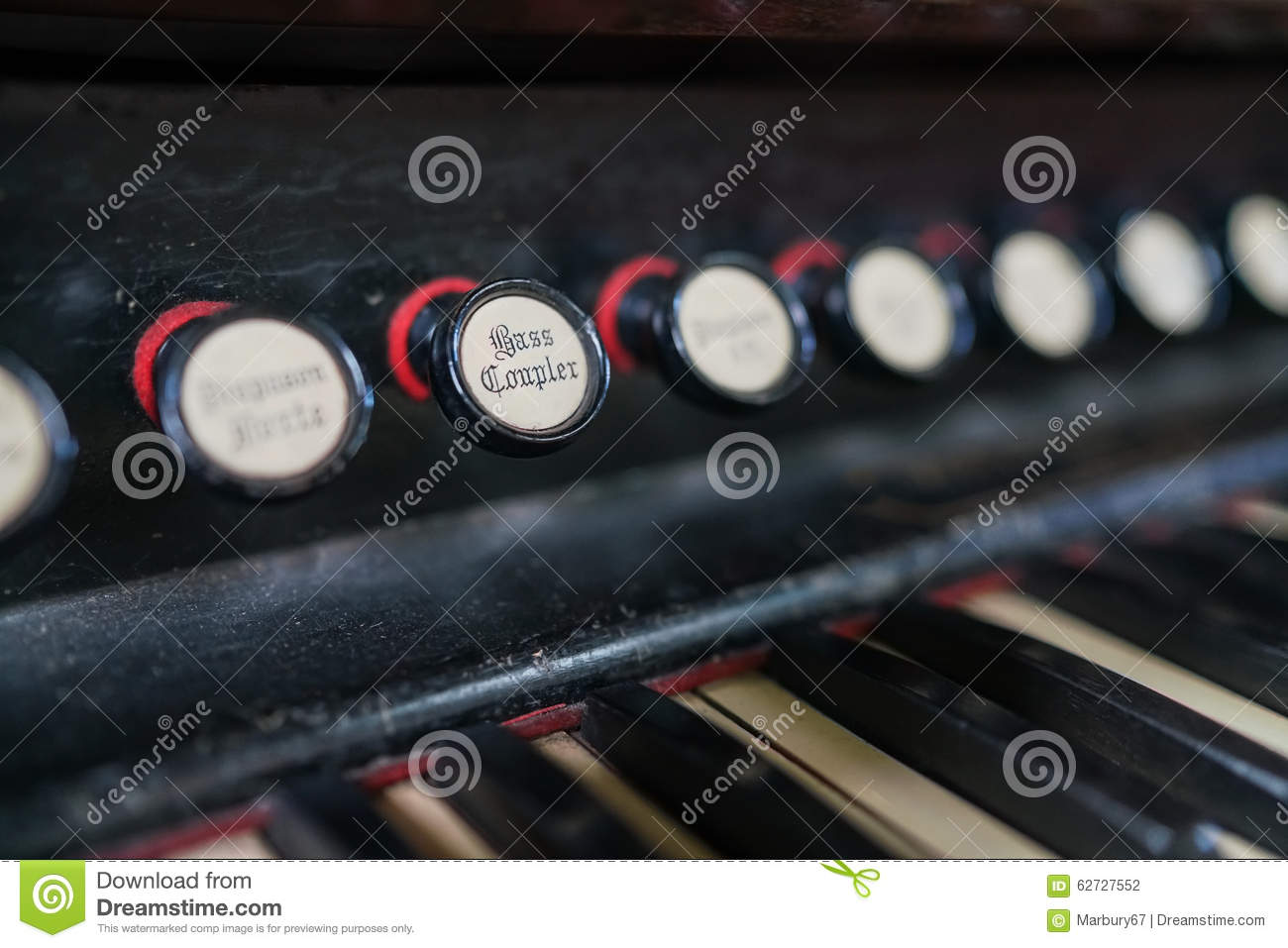 Organ bass coupler stock photo image 62727552 for Classic house organ bass