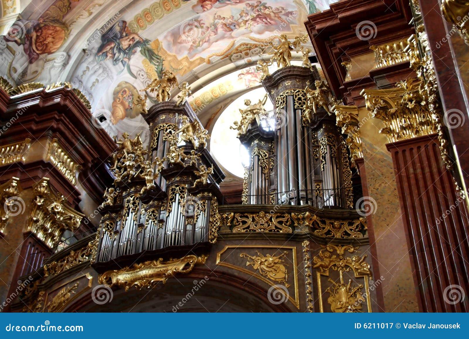 Organ in Melk