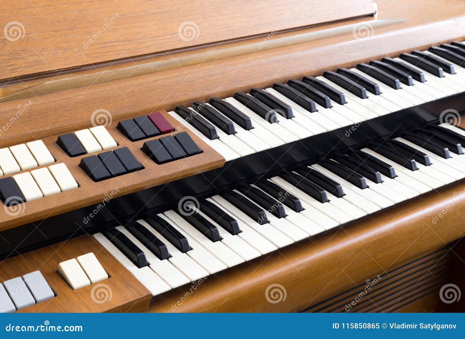 Organe électrique de vintage
