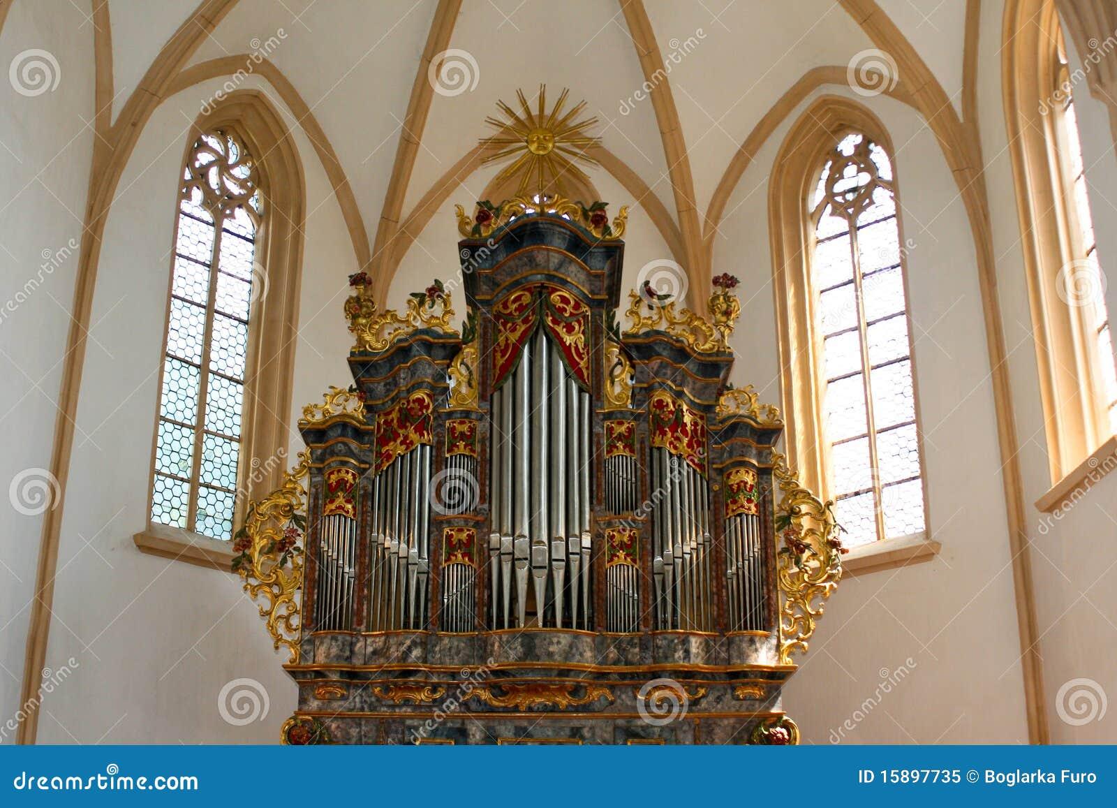 Organe de pipe d église