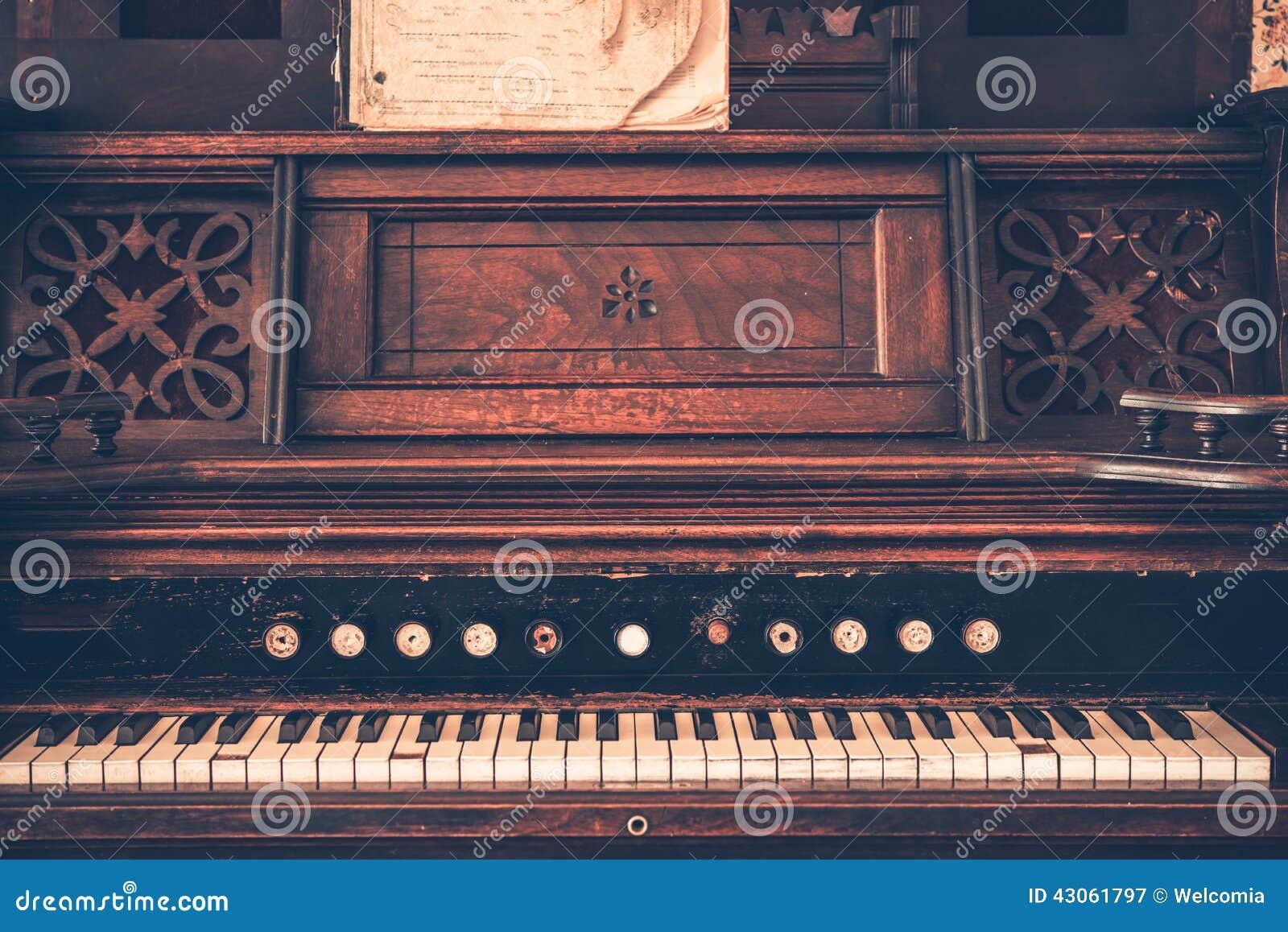Organe de vintage
