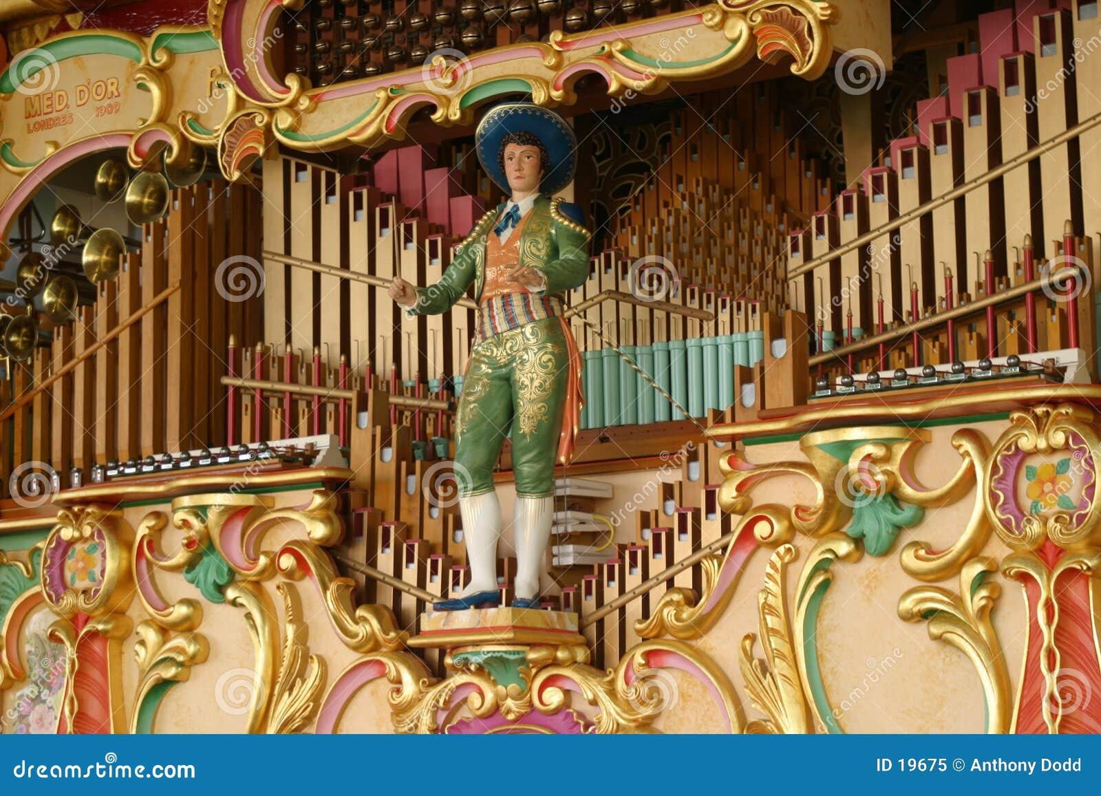Organe mécanique de musique