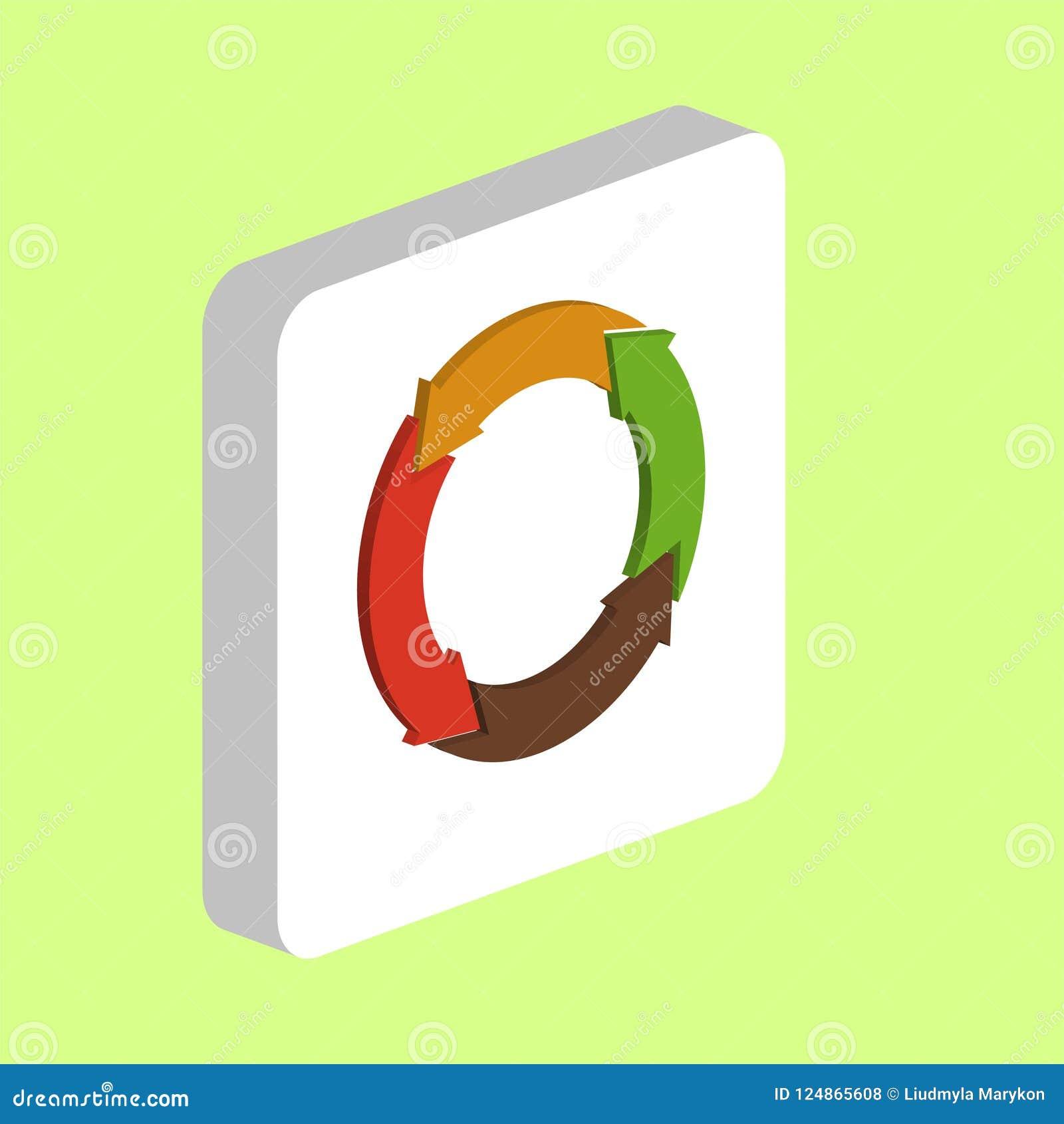 Organic Arrow Computer Symbol Stock Vector Illustration Of Logo