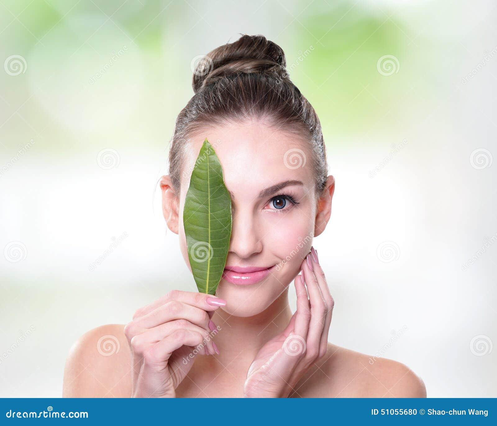 Organic cosmetic concept