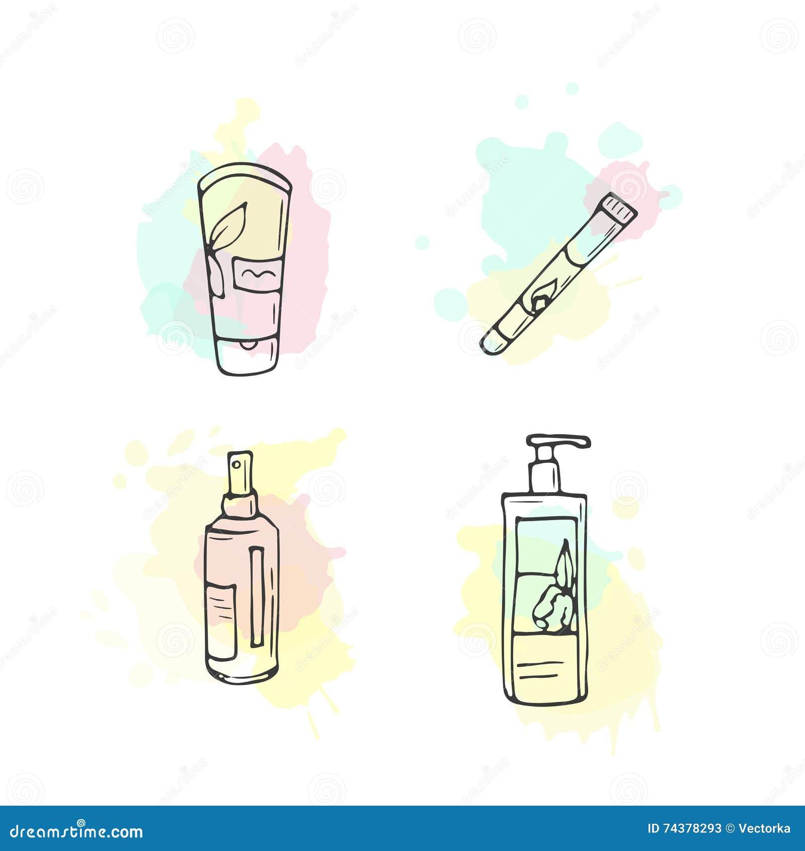 Organic Makeup Vector