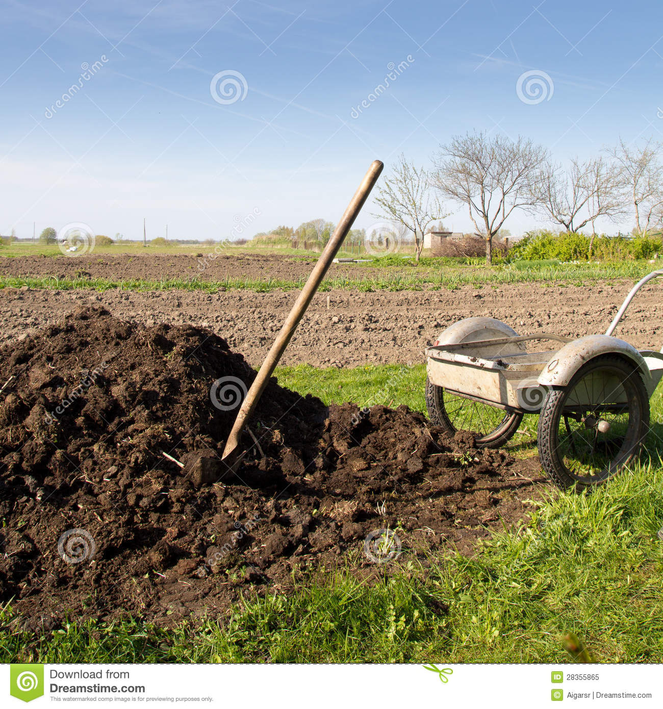 Organic Fertilizer Royalty Free Stock Photo Image 28355865