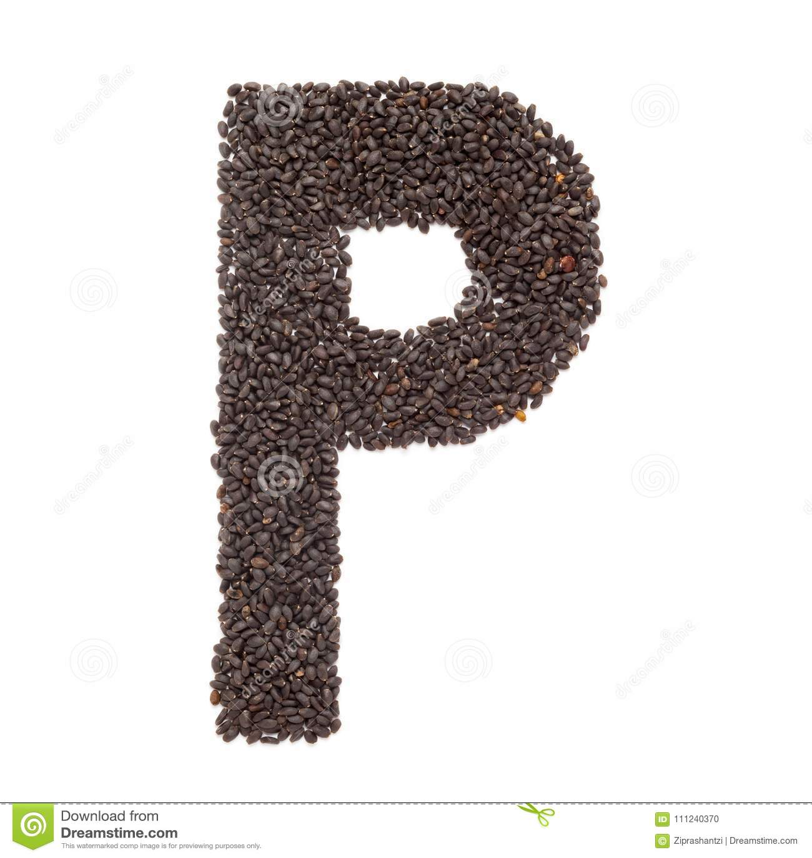 Organic Holy Basil Seed Ocimum Tenuiflorum Or Tulsi In P Shape For
