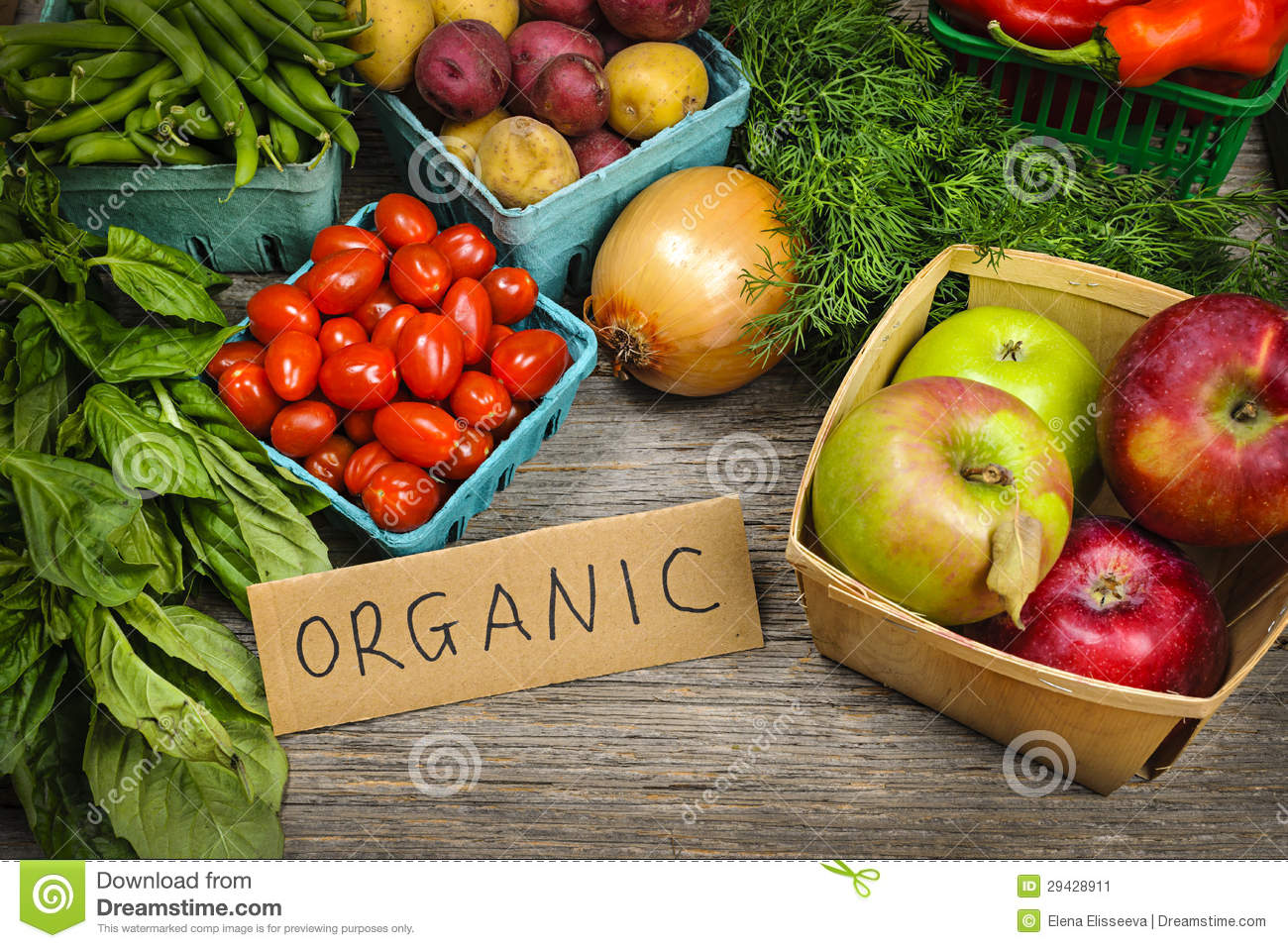 Organic fruits and vegetables market in india