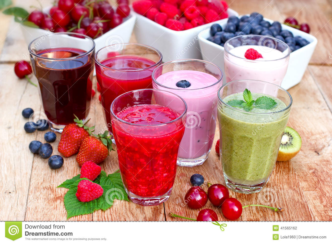 family fruit healthy fruit smoothies with yogurt