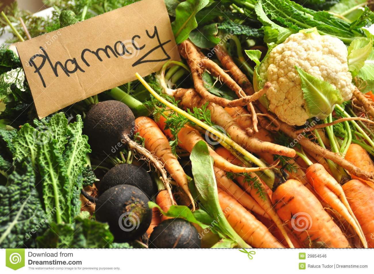 Real, organic food as our pharmacy, medicine