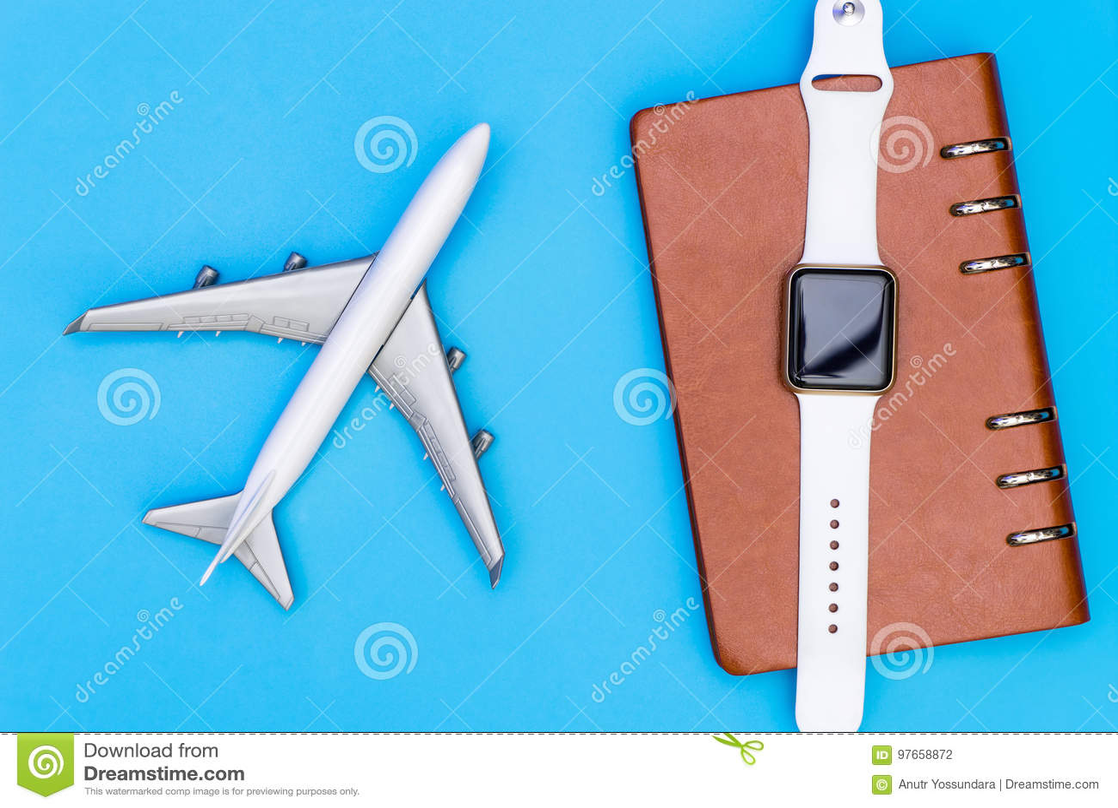 Organisateur futé de montre et de carnet pour le voyage d affaires