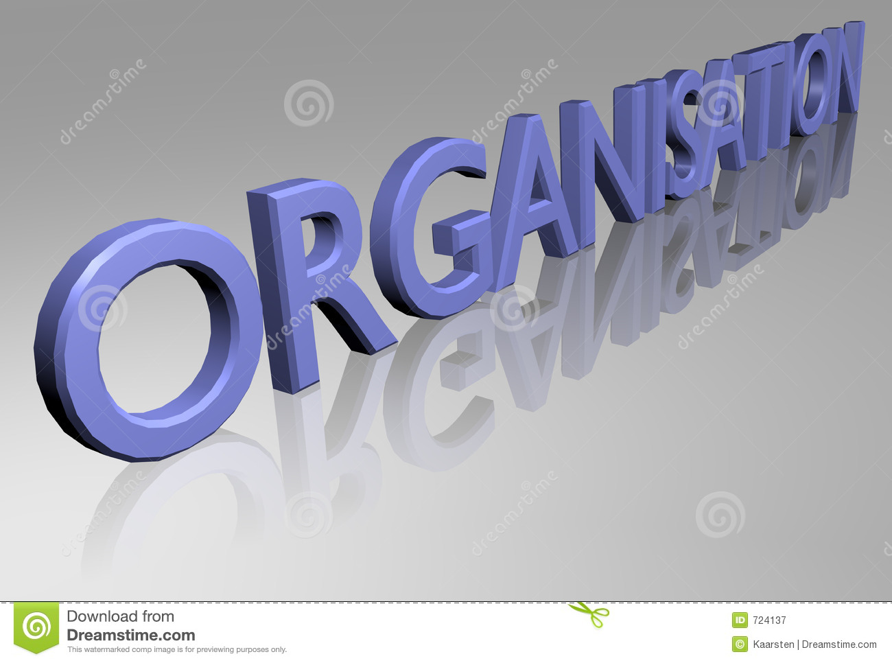 Royalty Free Stock Photography Organisation Image724137