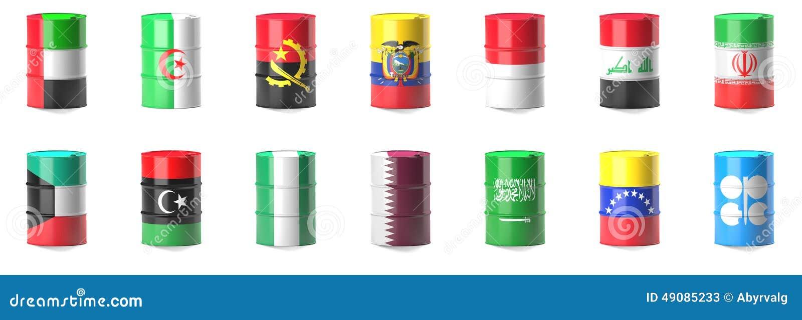 Organisation av oljaexportlandflaggorna