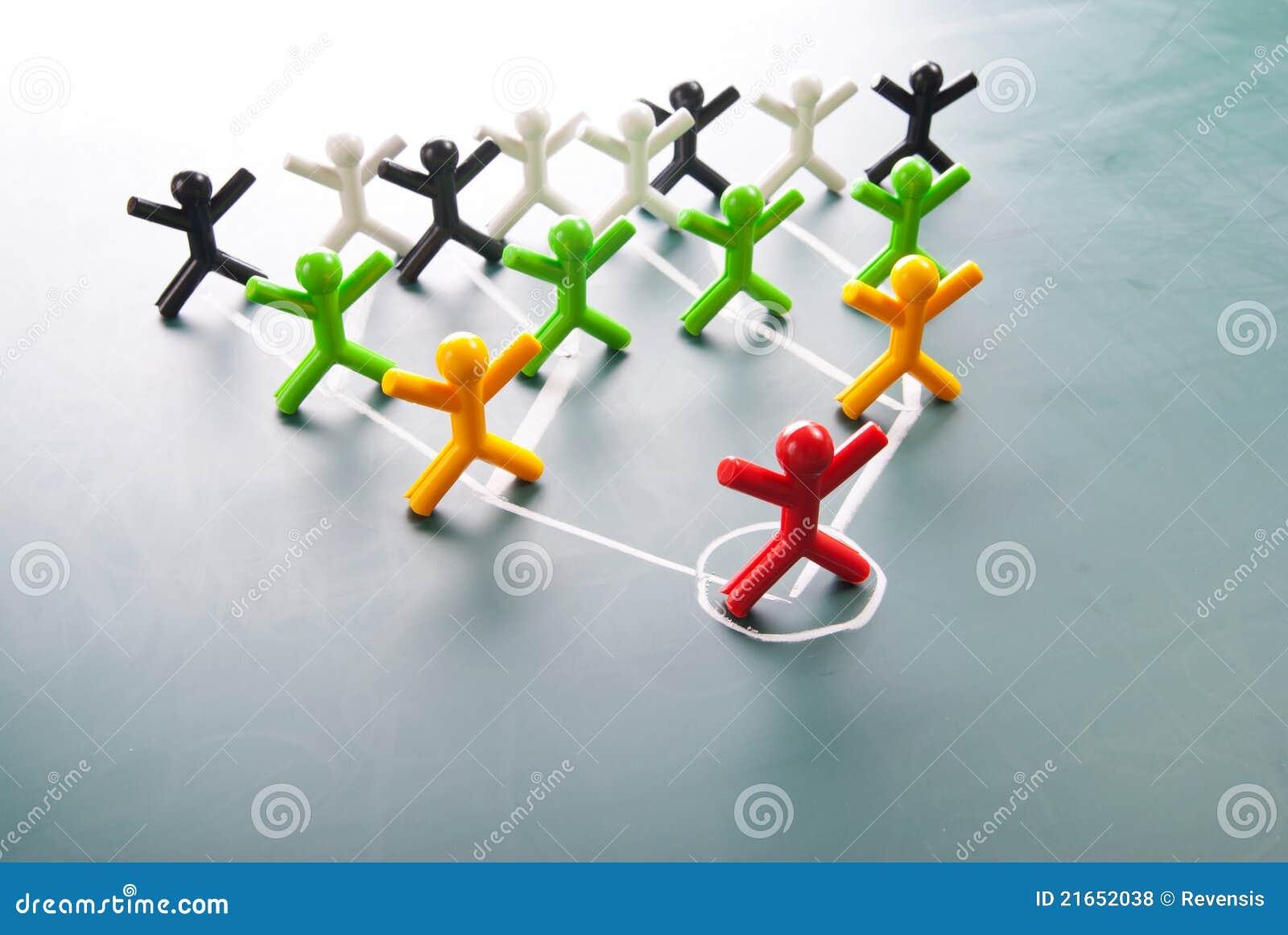 Organisatorisk företags hierarki för diagram