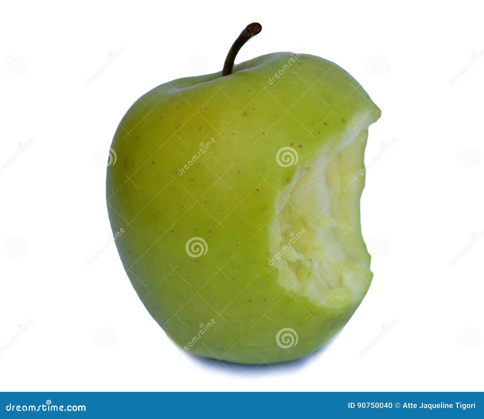 Organische geëtiketteerdek appel