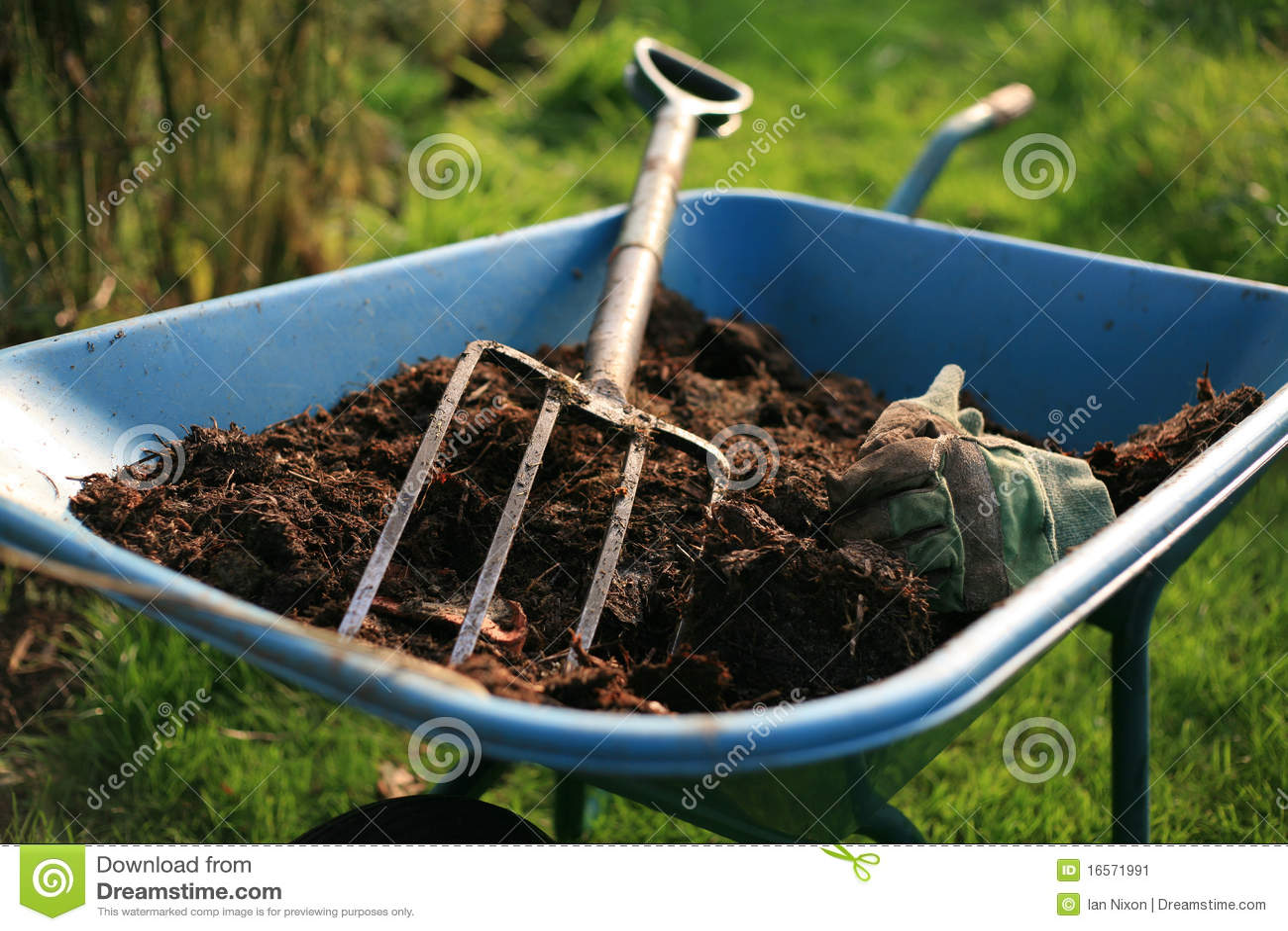 Organischer Gärtner