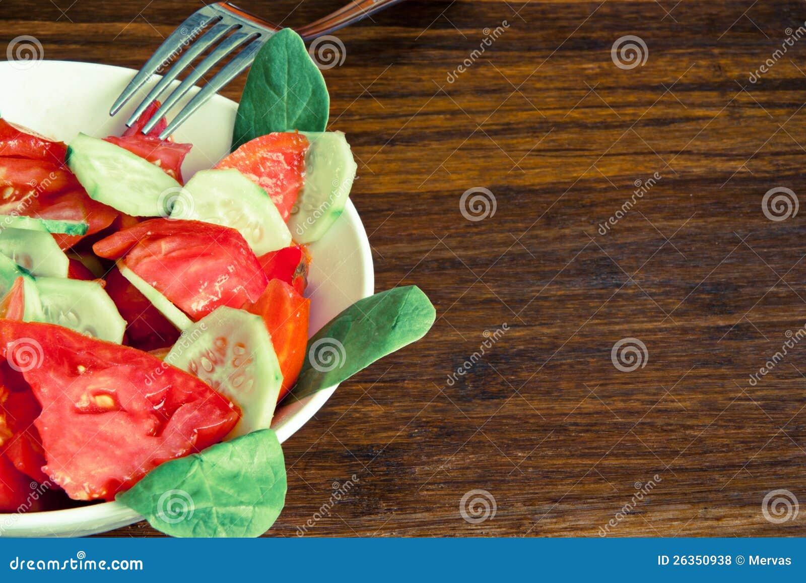 Organischer Salat