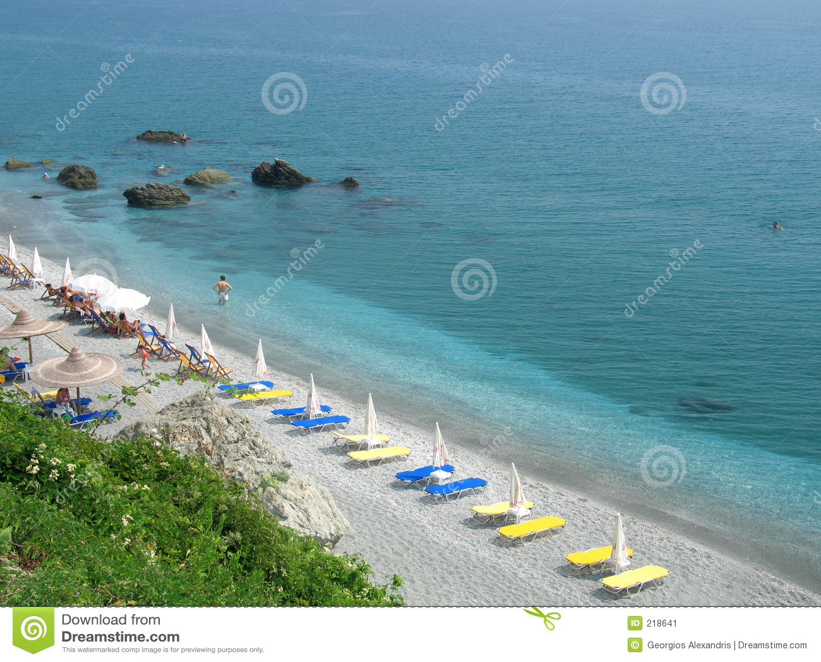 Organiserad strand
