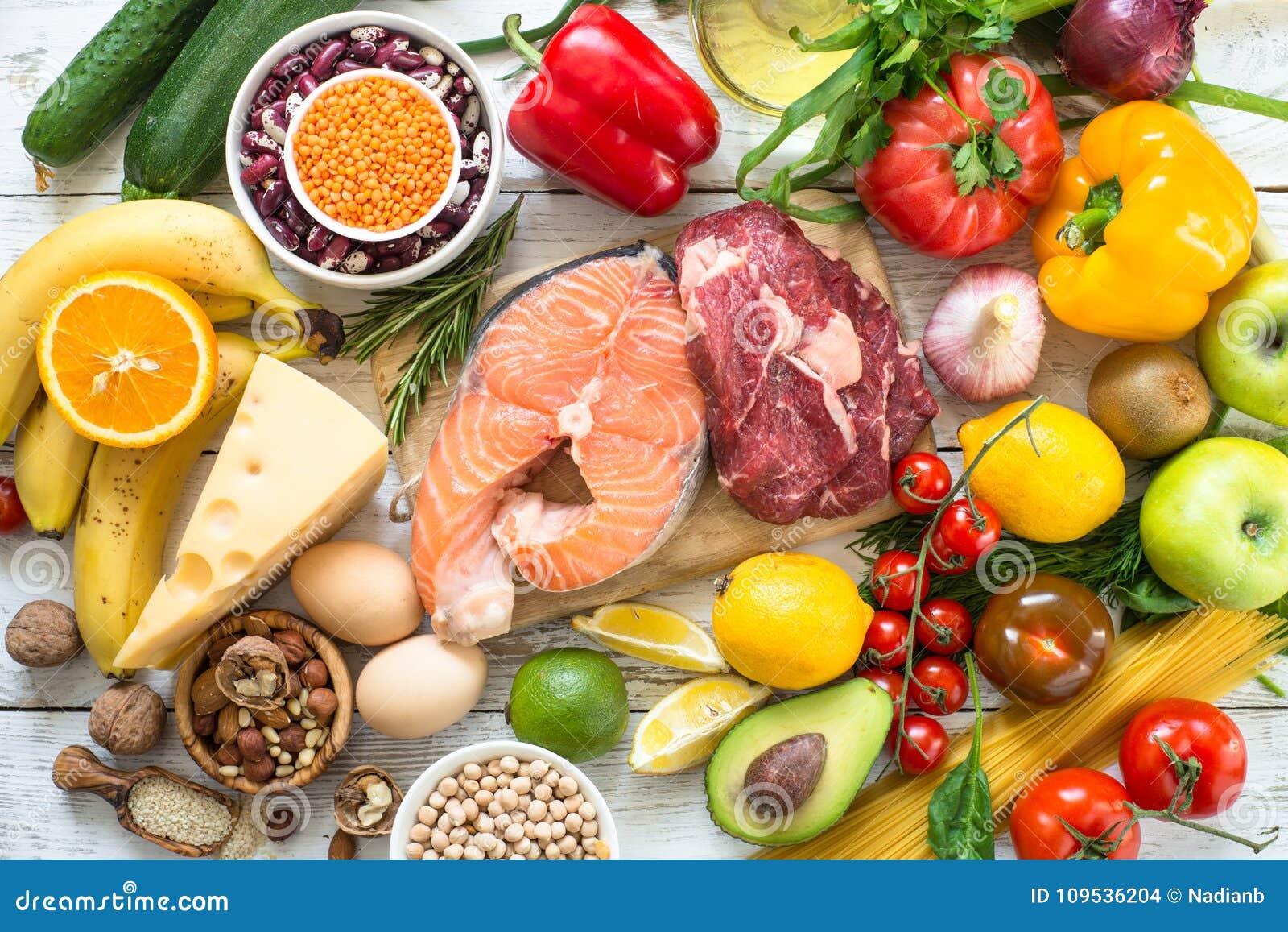 Organisk mat för sund näring