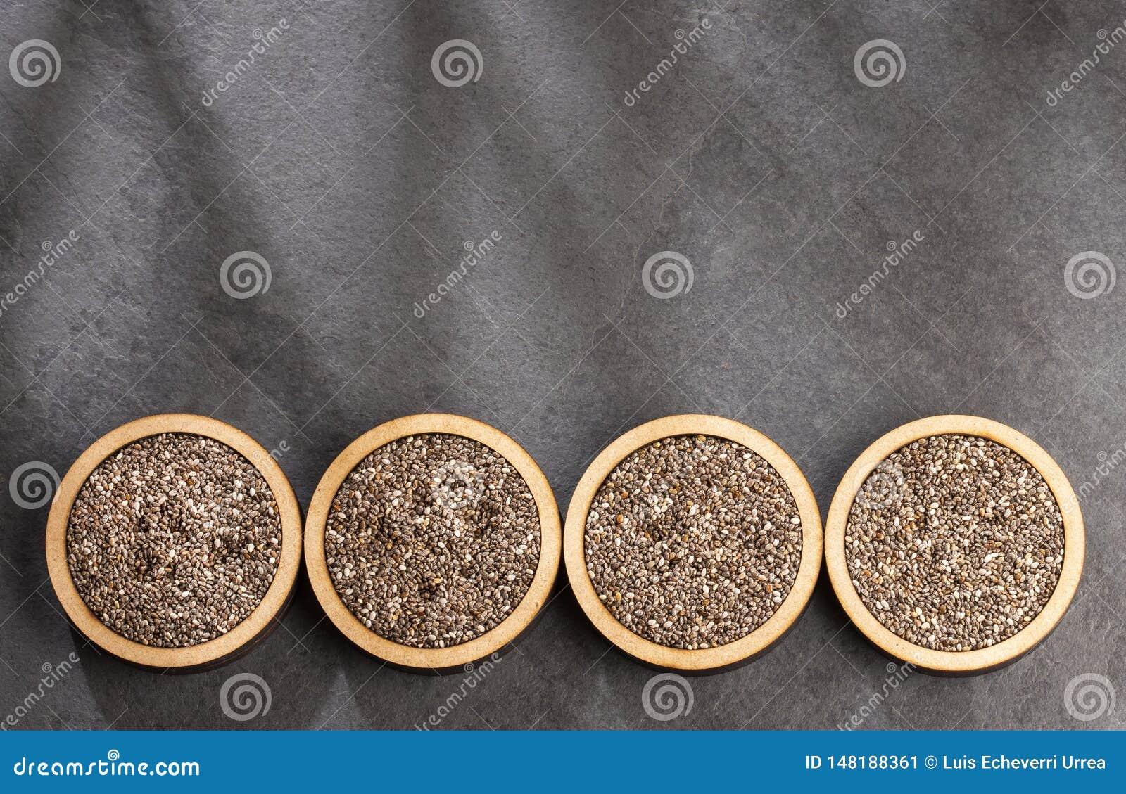 Organiskt chiafr? - Salvia hispanica Utrymme f?r text
